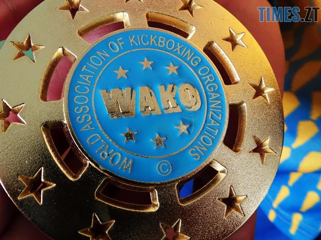 DSC02028 - Як одноклубники зустріли житомирського кікбоксера Артема Мельника, який став чемпіоном світу-2018 WAKO серед молоді (ФОТО)