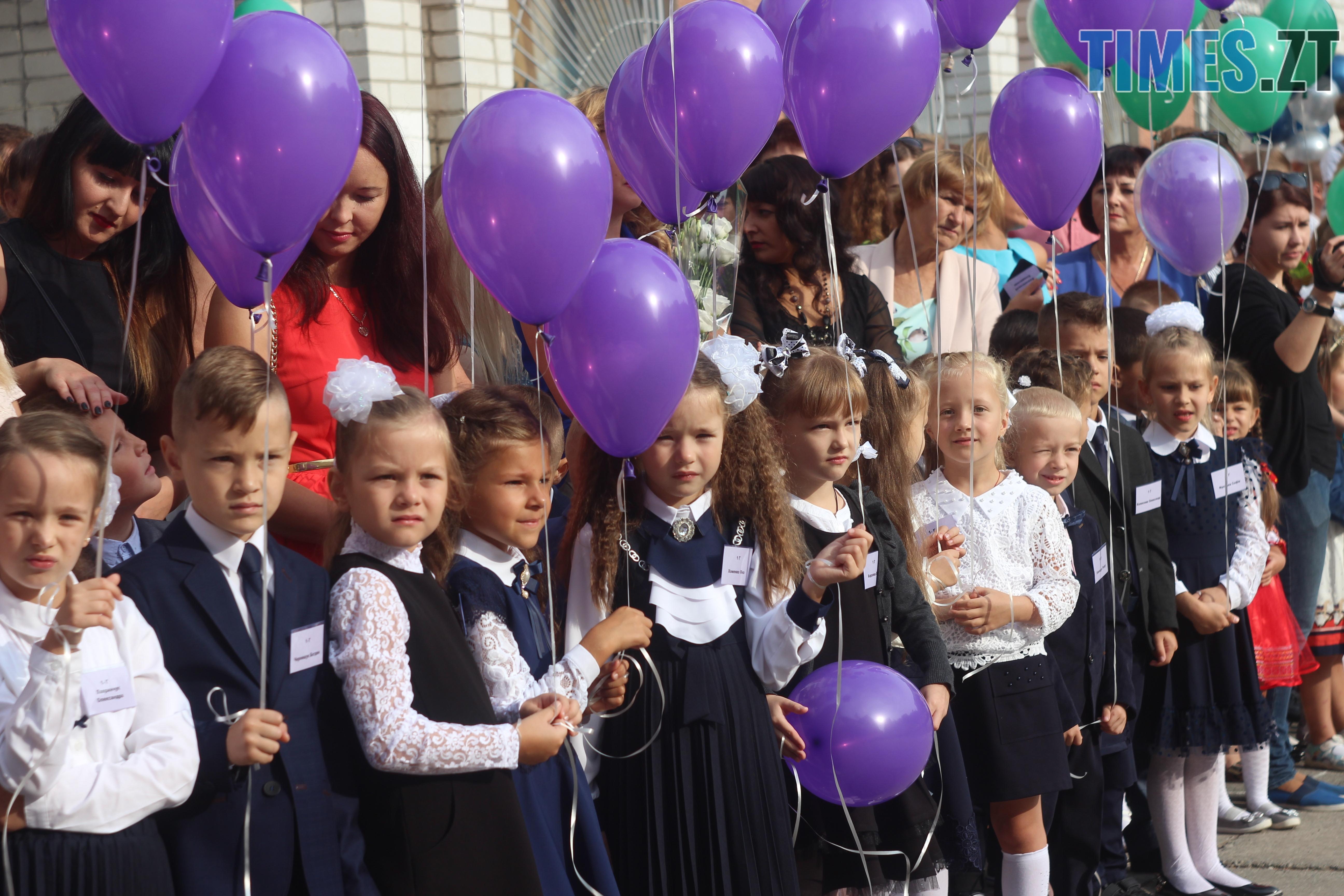 IMG 8740 - Майже 4 тисячі житомирських першокласників навчатимуться за системою Нової української школи (ФОТОРЕПОРТАЖ)