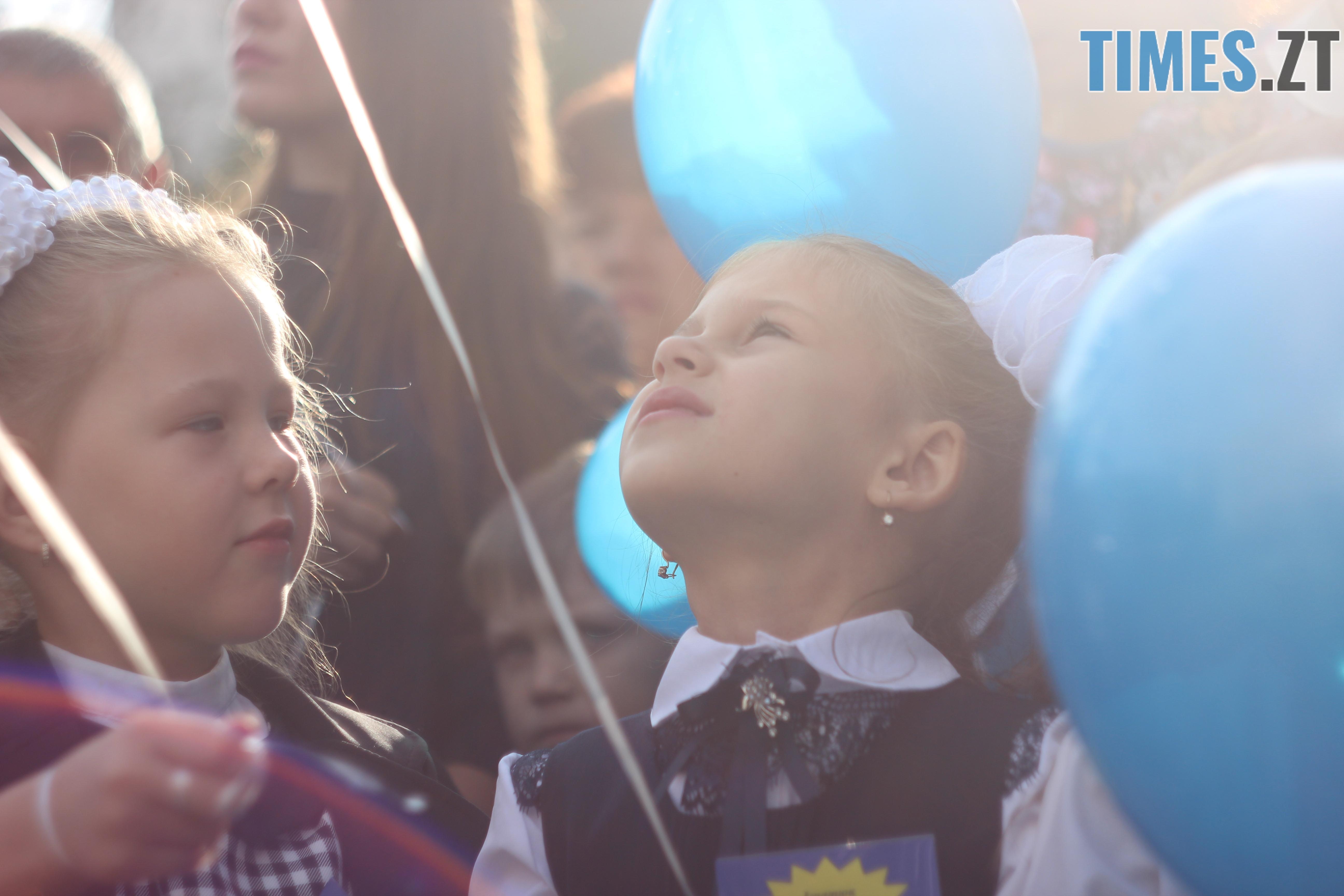 IMG 8751 - Майже 4 тисячі житомирських першокласників навчатимуться за системою Нової української школи (ФОТОРЕПОРТАЖ)