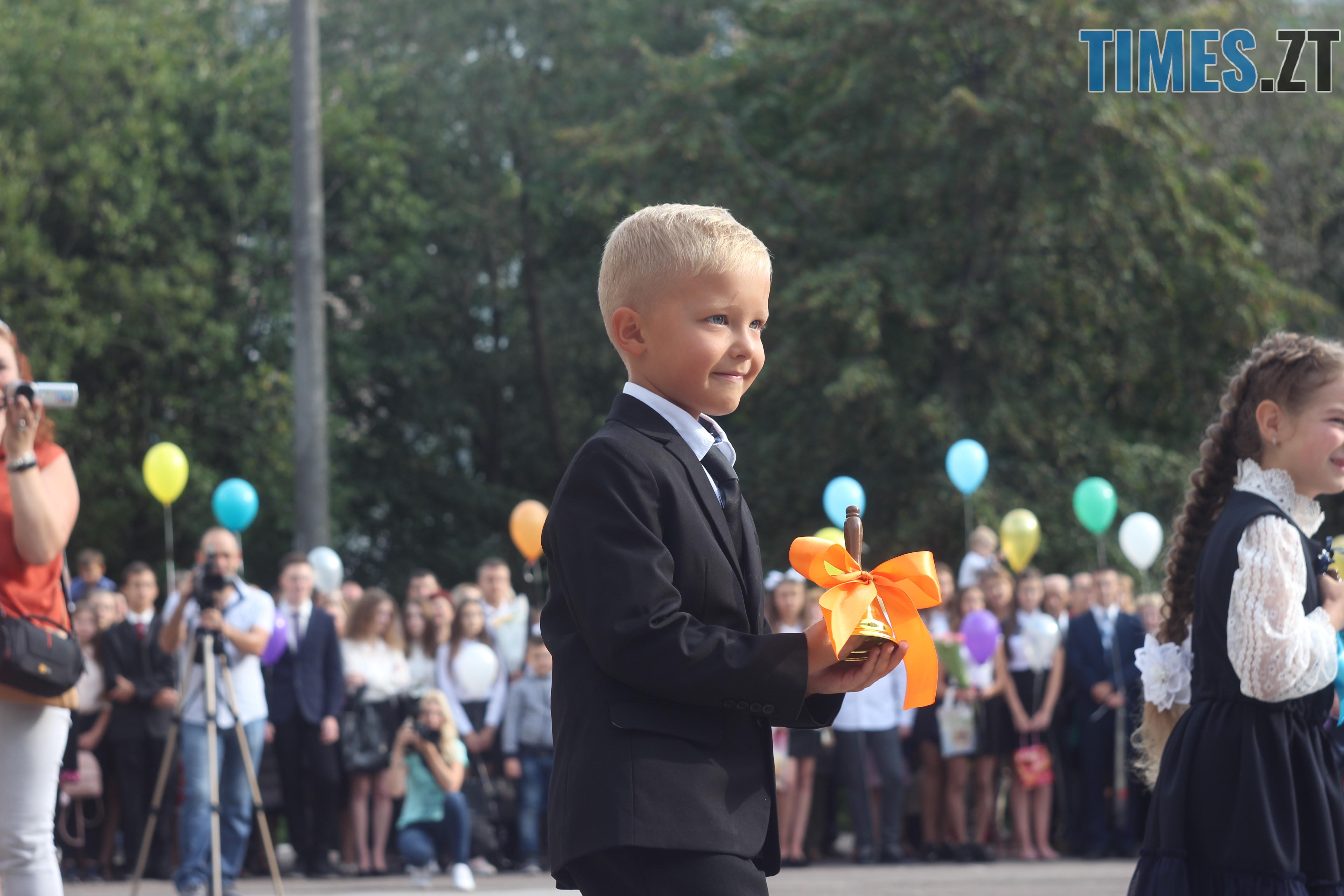 IMG 8785 - Майже 4 тисячі житомирських першокласників навчатимуться за системою Нової української школи (ФОТОРЕПОРТАЖ)