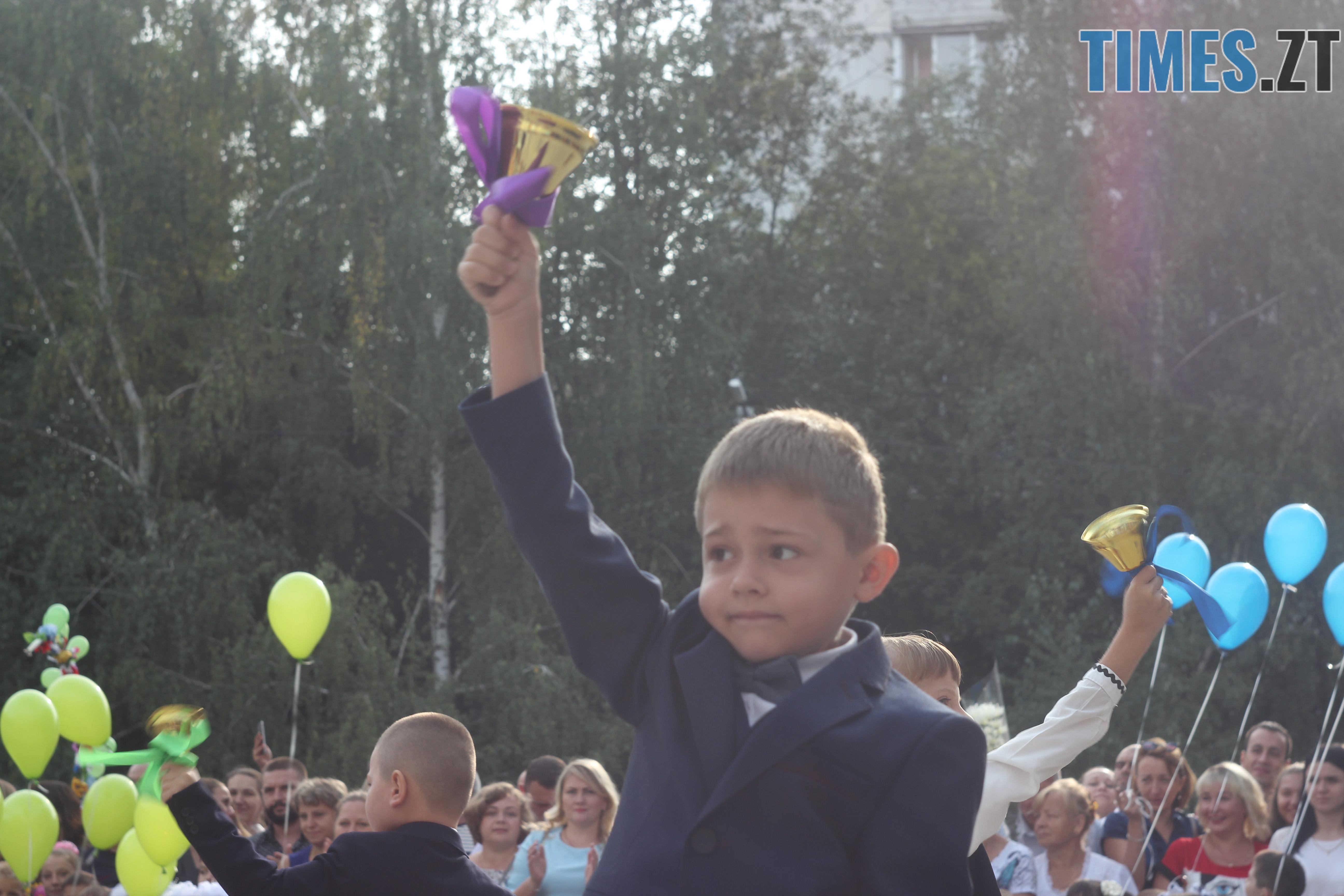 IMG 8794 - Майже 4 тисячі житомирських першокласників навчатимуться за системою Нової української школи (ФОТОРЕПОРТАЖ)