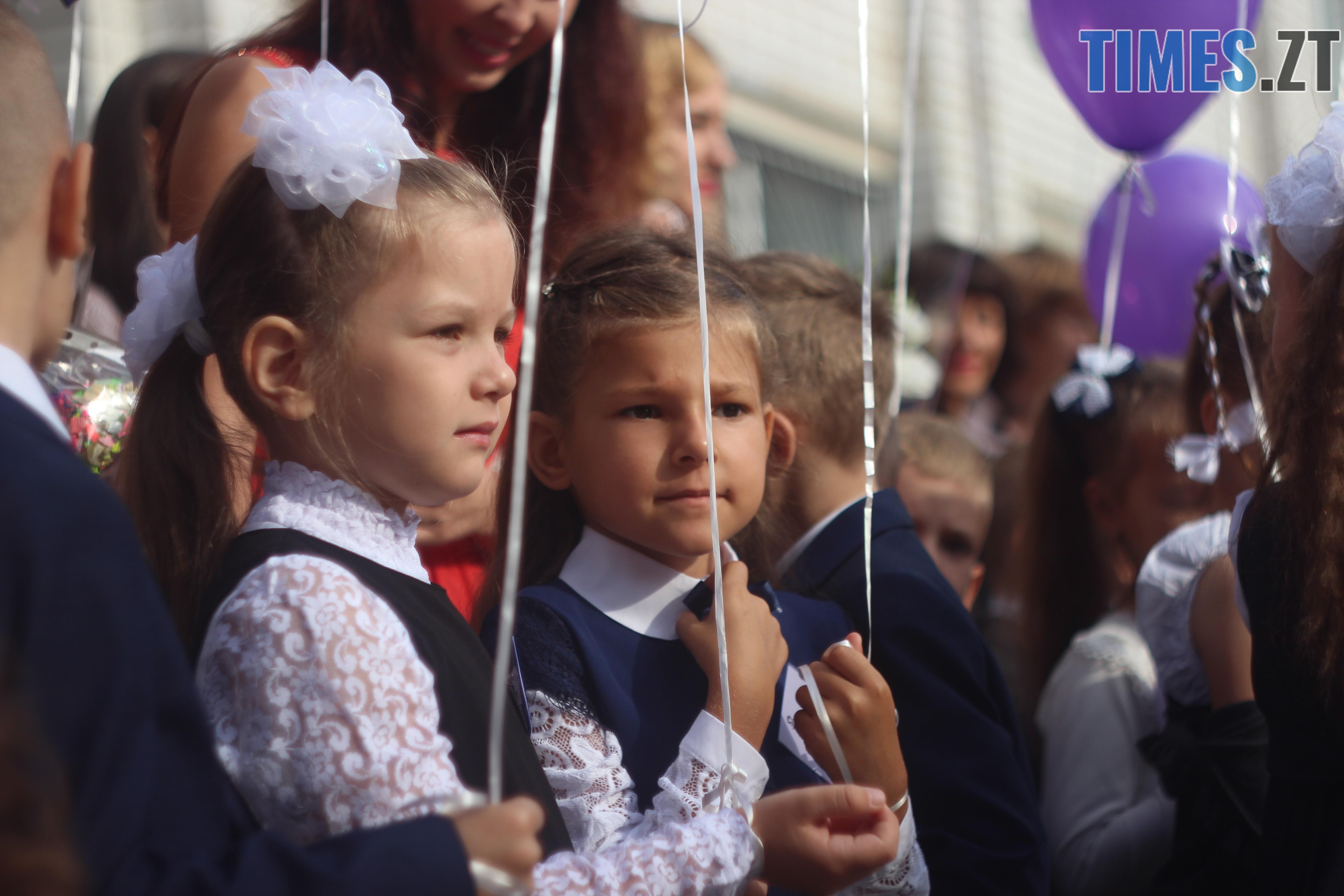 IMG 8798 - Майже 4 тисячі житомирських першокласників навчатимуться за системою Нової української школи (ФОТОРЕПОРТАЖ)