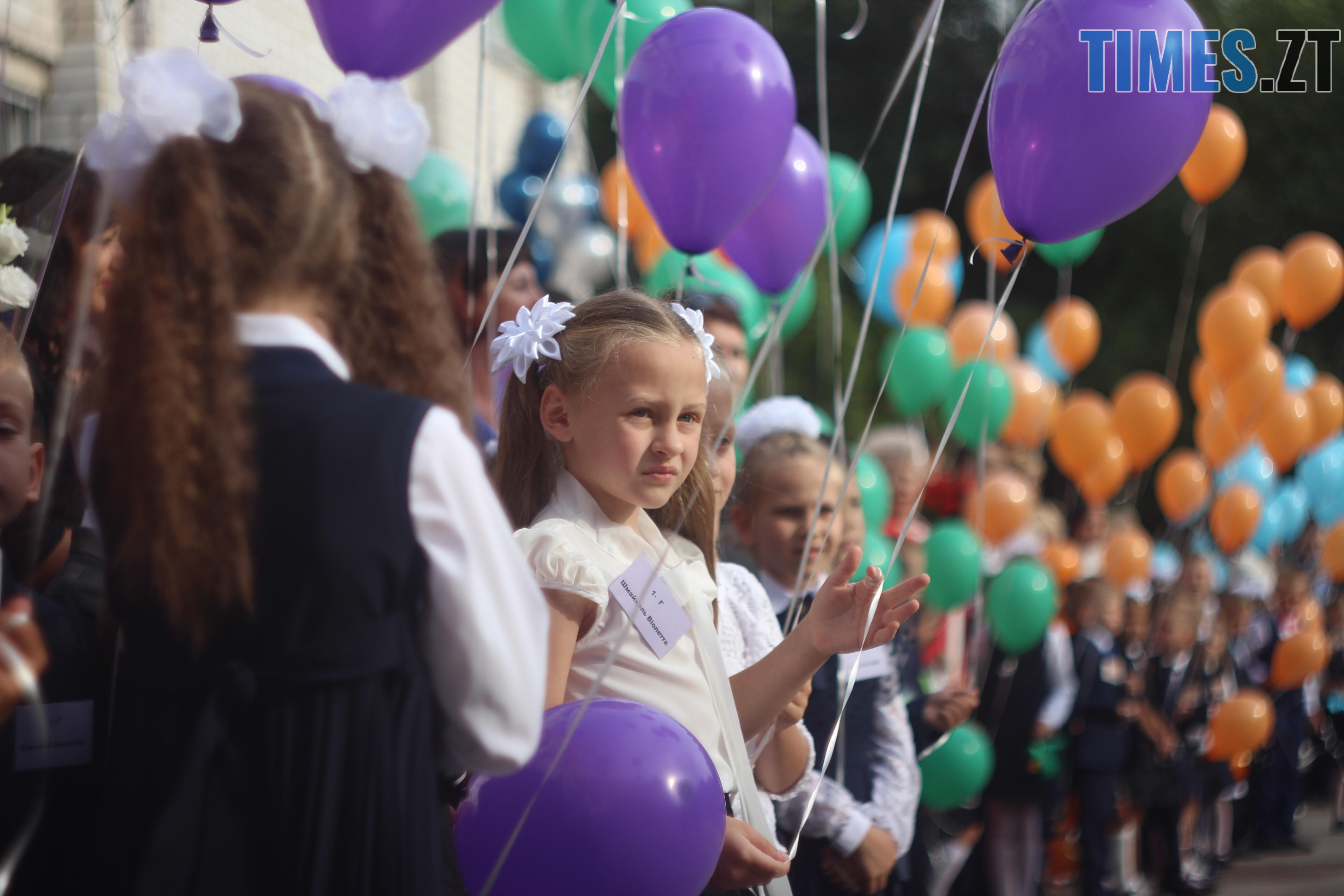 IMG 8799 - Майже 4 тисячі житомирських першокласників навчатимуться за системою Нової української школи (ФОТОРЕПОРТАЖ)