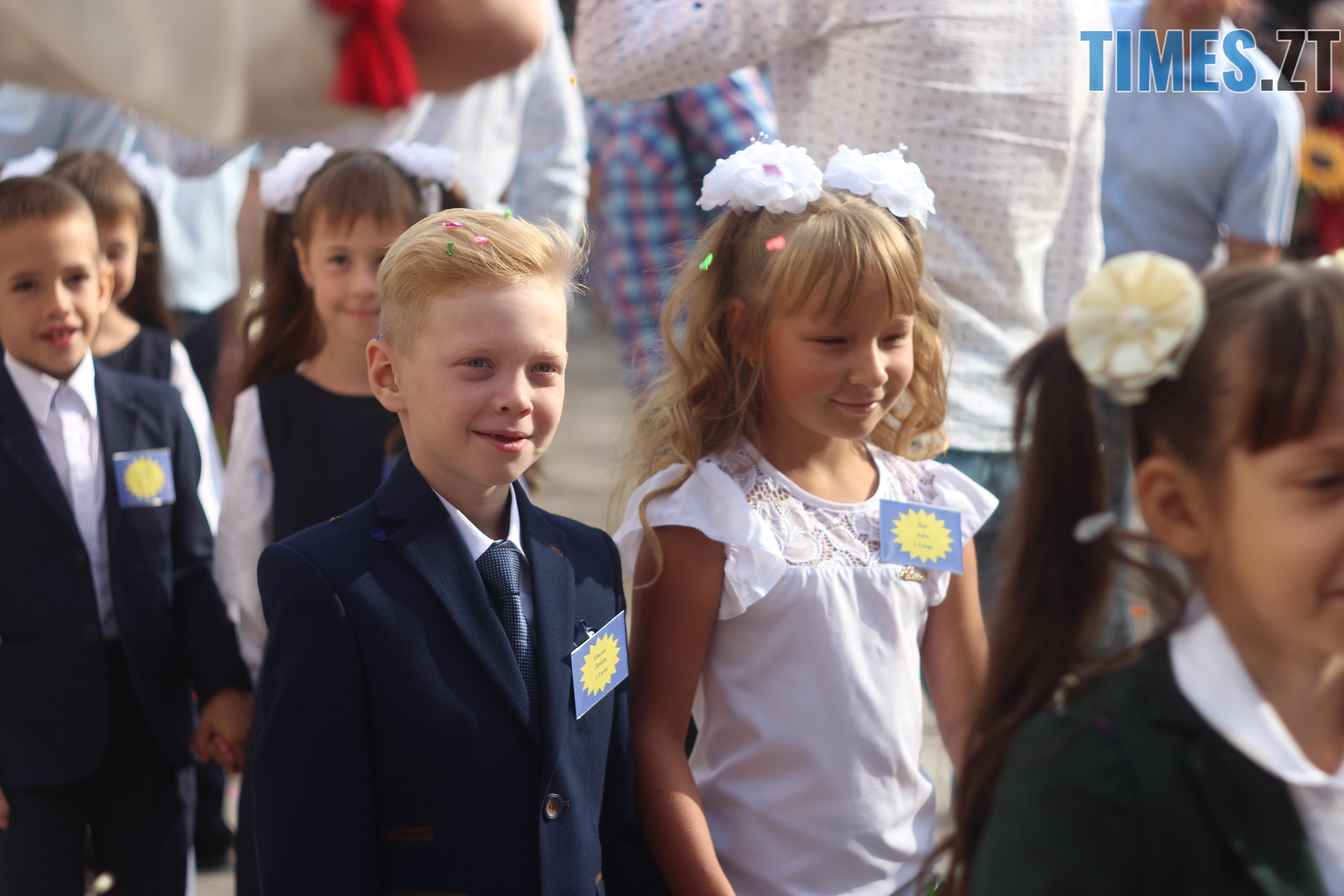 IMG 8845 - Майже 4 тисячі житомирських першокласників навчатимуться за системою Нової української школи (ФОТОРЕПОРТАЖ)