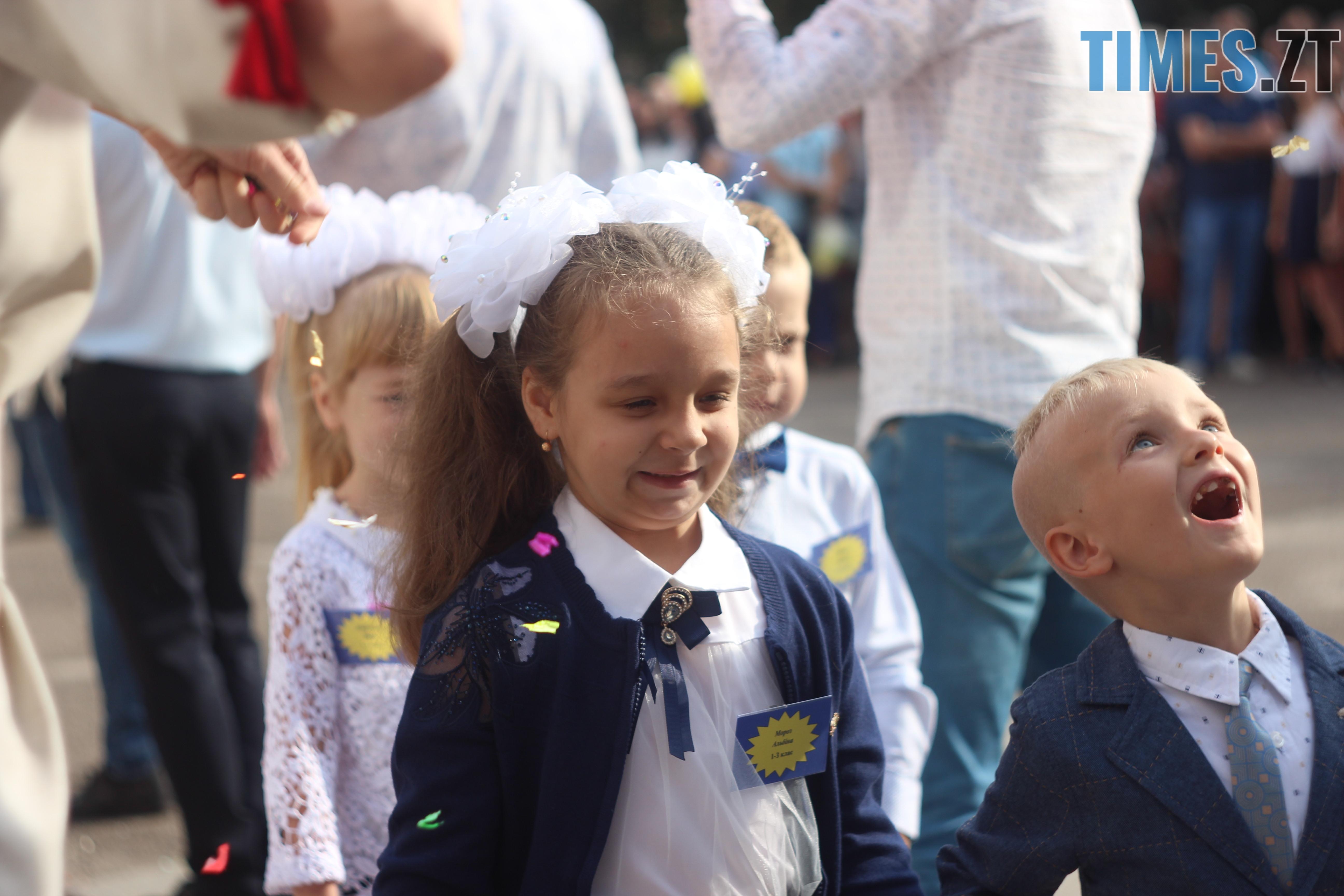 IMG 8848 - Майже 4 тисячі житомирських першокласників навчатимуться за системою Нової української школи (ФОТОРЕПОРТАЖ)