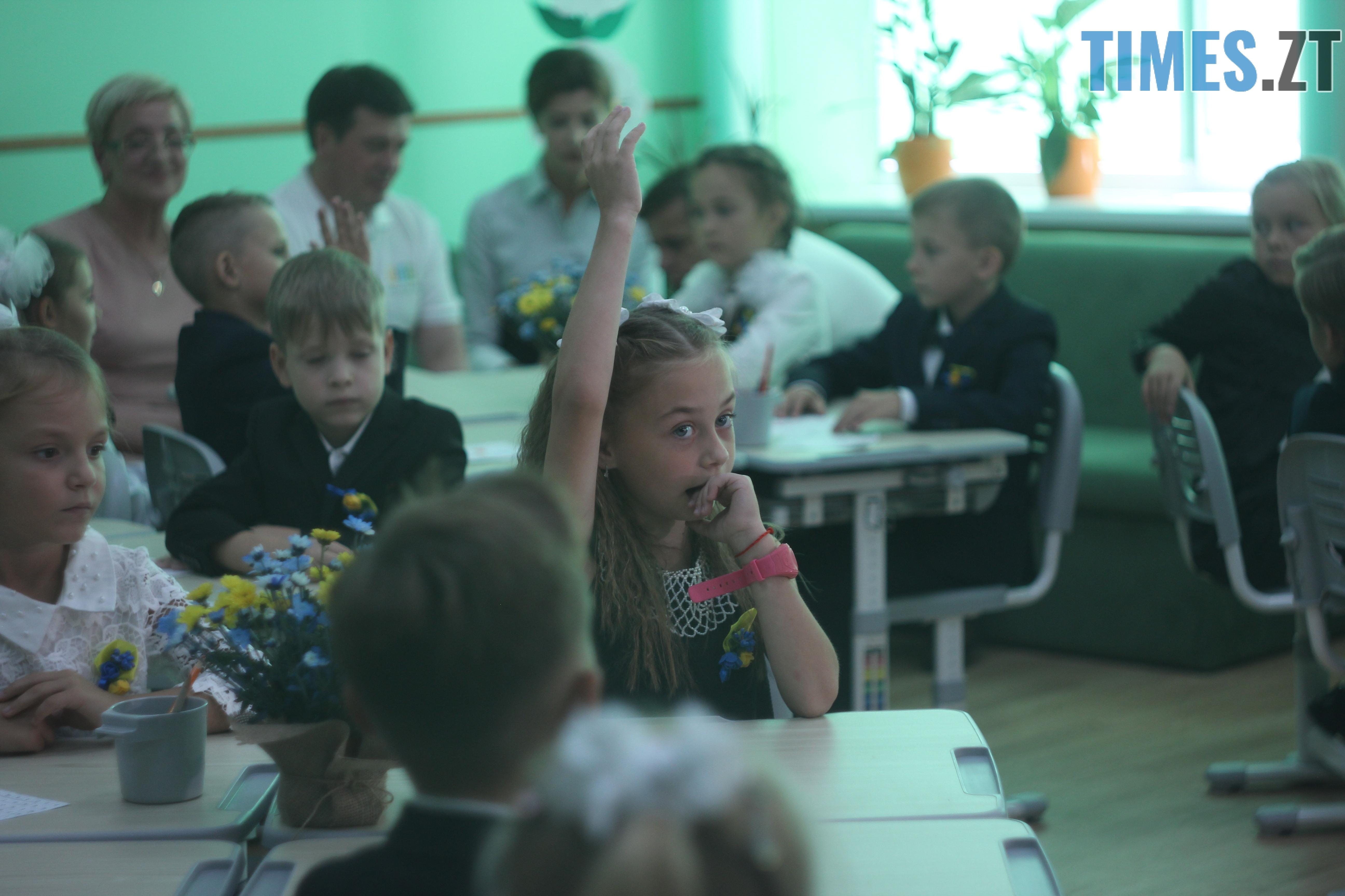 IMG 8997 - Майже 4 тисячі житомирських першокласників навчатимуться за системою Нової української школи (ФОТОРЕПОРТАЖ)