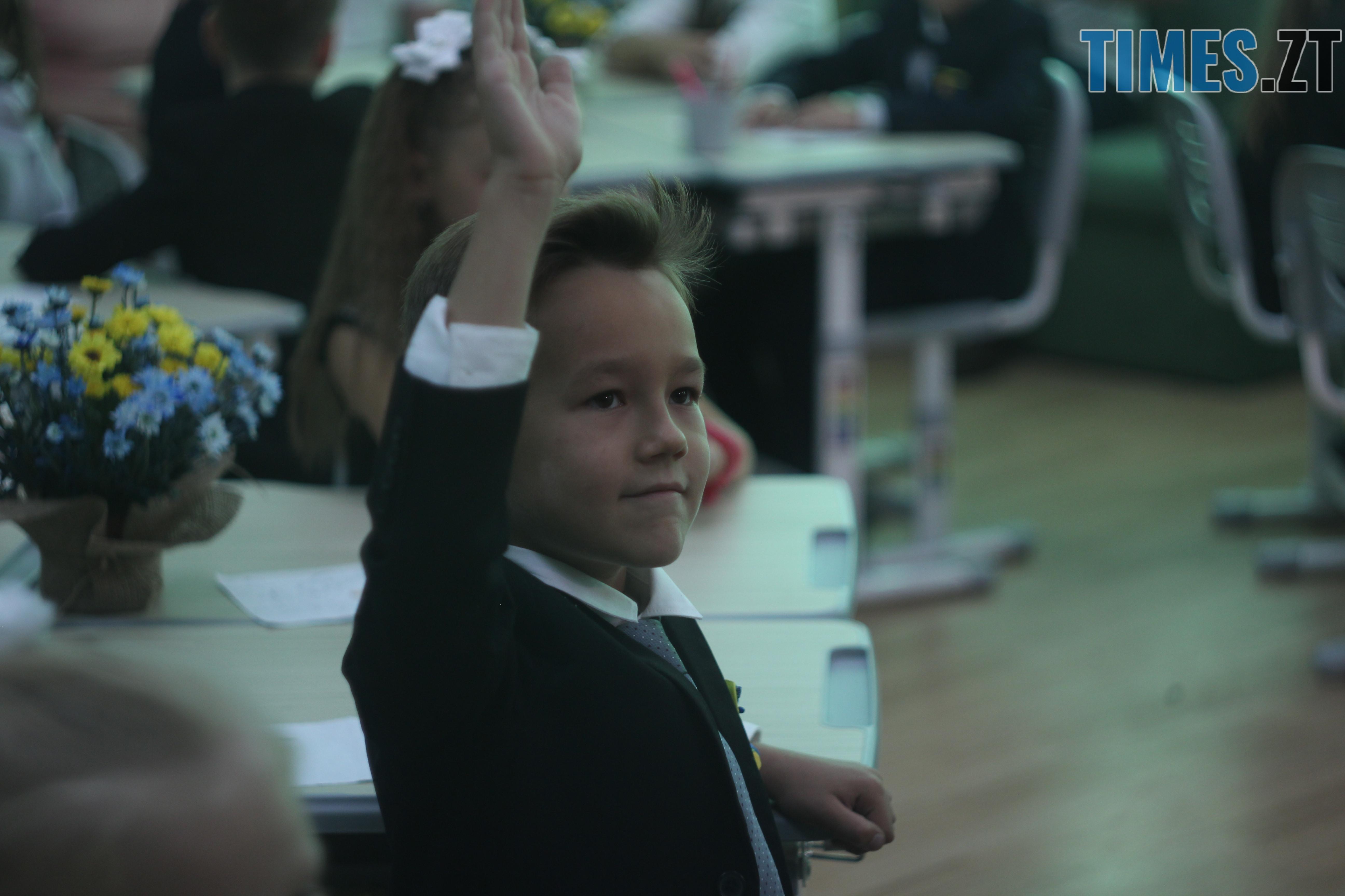 IMG 9008 - Майже 4 тисячі житомирських першокласників навчатимуться за системою Нової української школи (ФОТОРЕПОРТАЖ)