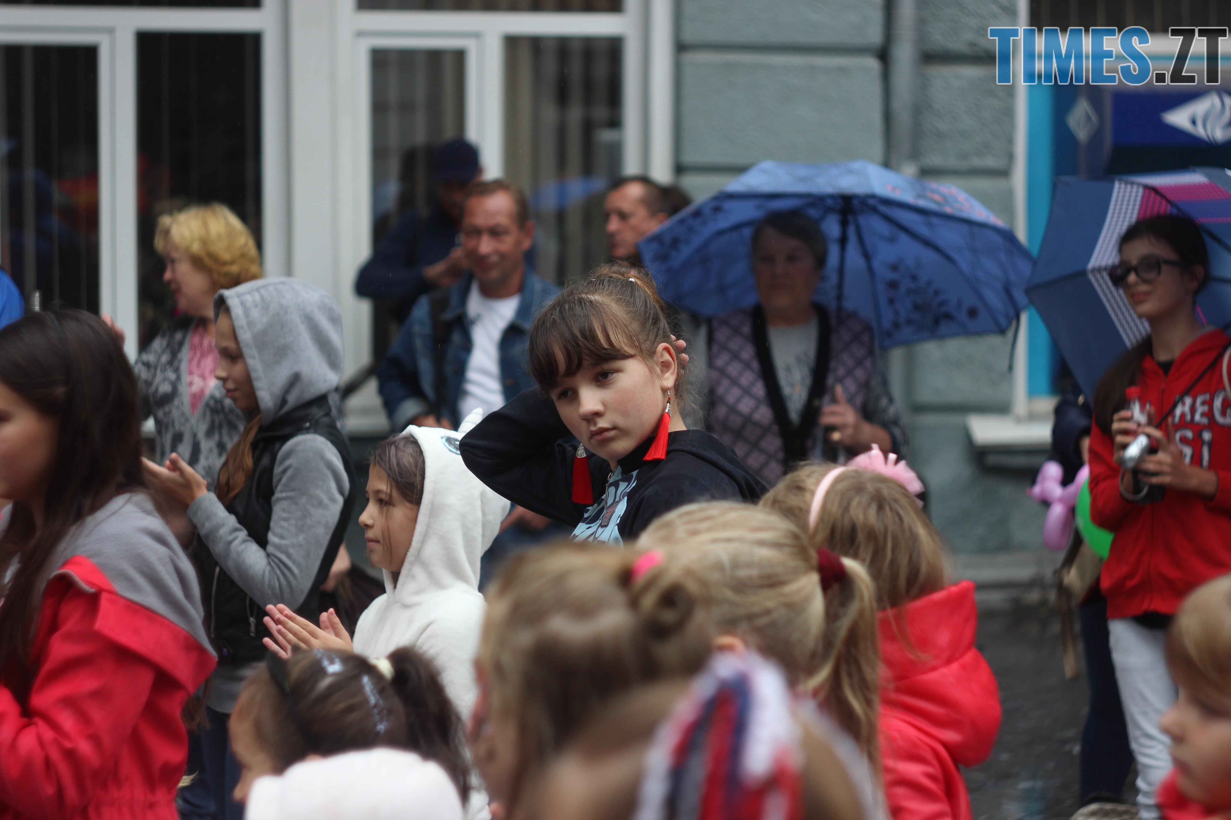 IMG 9693 - Дитячі розваги на Михайлівській: маленькі житомиряни святкують День міста (ФОТО)