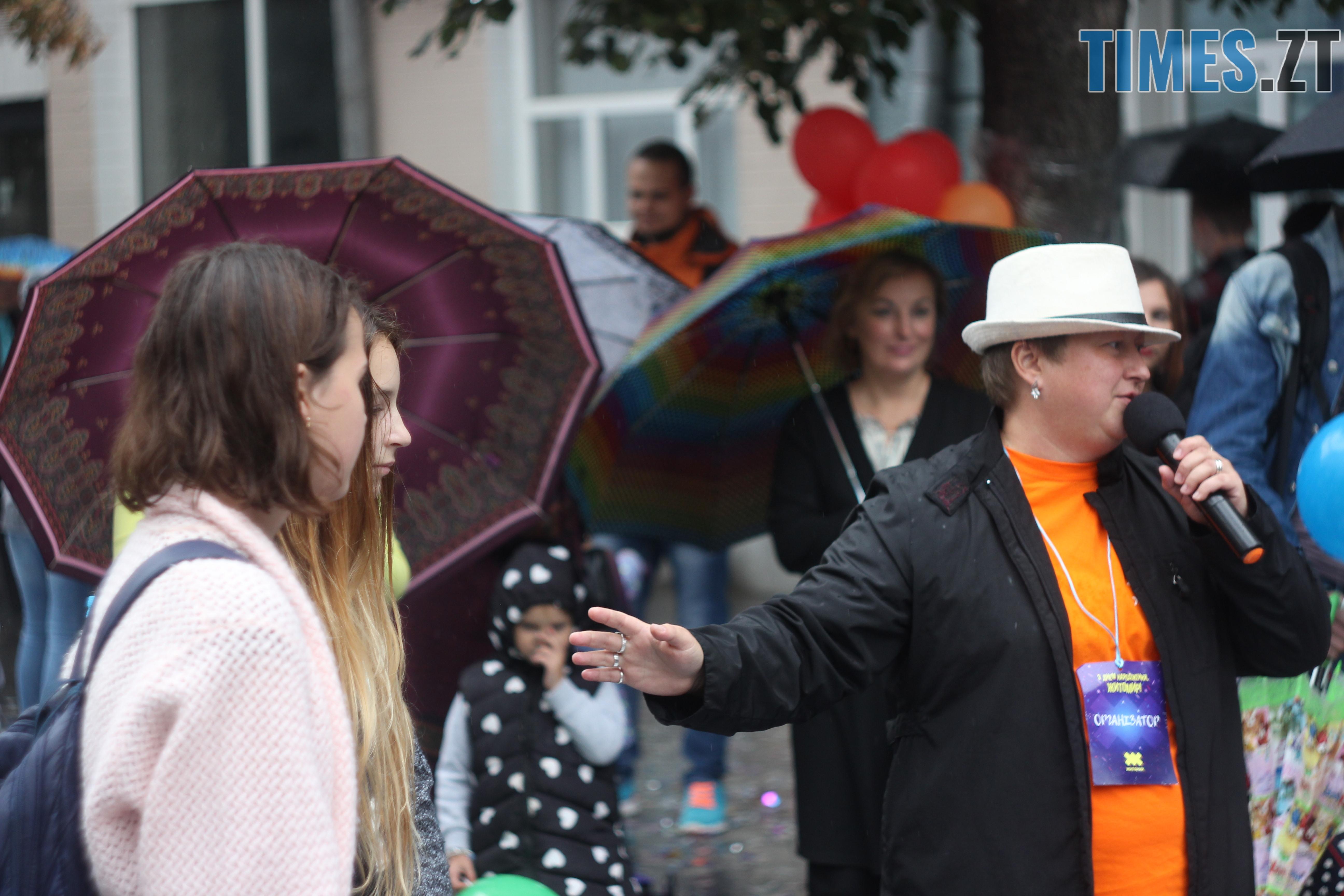IMG 9696 - Дитячі розваги на Михайлівській: маленькі житомиряни святкують День міста (ФОТО)