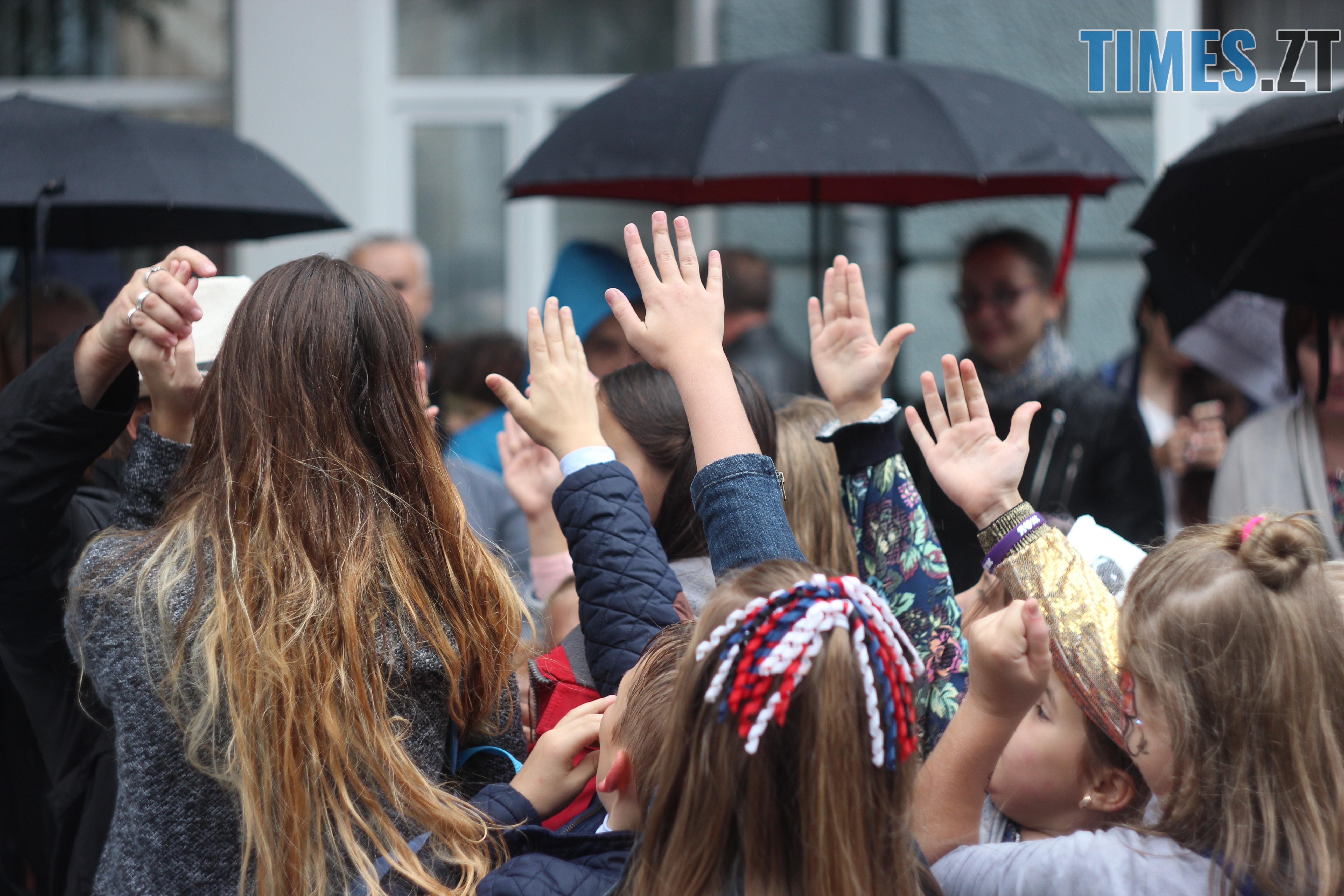 IMG 9698 - Дитячі розваги на Михайлівській: маленькі житомиряни святкують День міста (ФОТО)