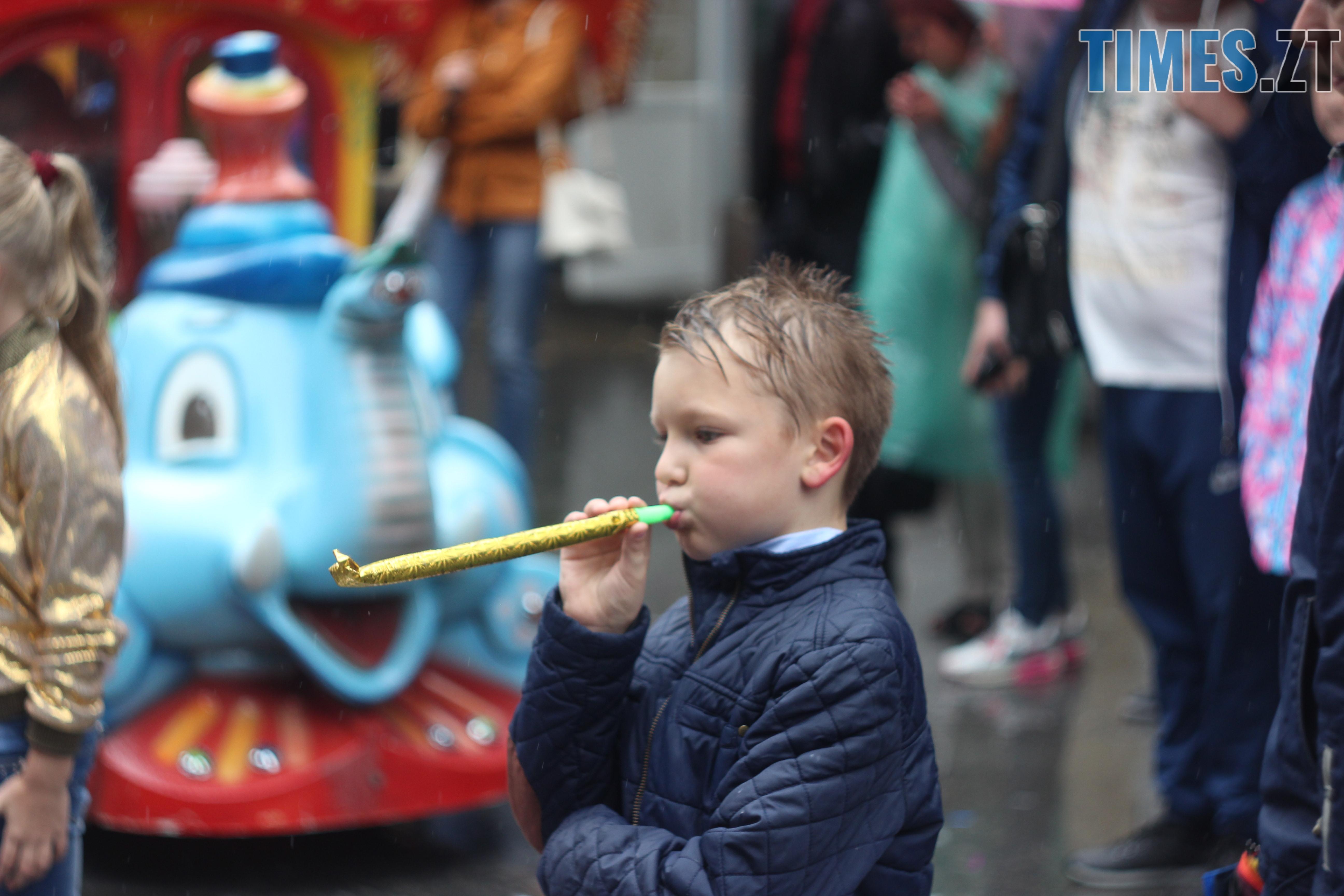IMG 9701 - Дитячі розваги на Михайлівській: маленькі житомиряни святкують День міста (ФОТО)