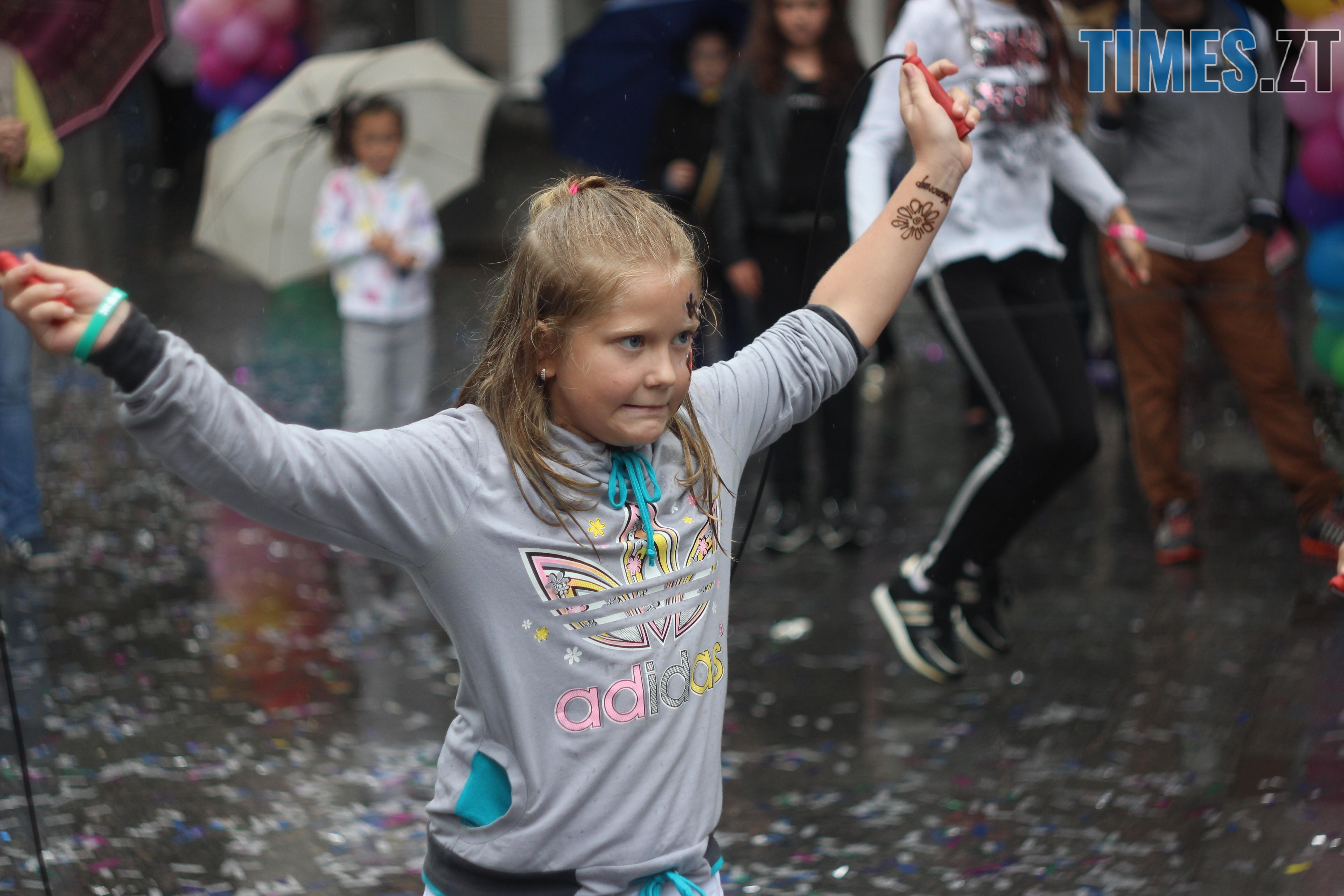 IMG 9707 - Дитячі розваги на Михайлівській: маленькі житомиряни святкують День міста (ФОТО)
