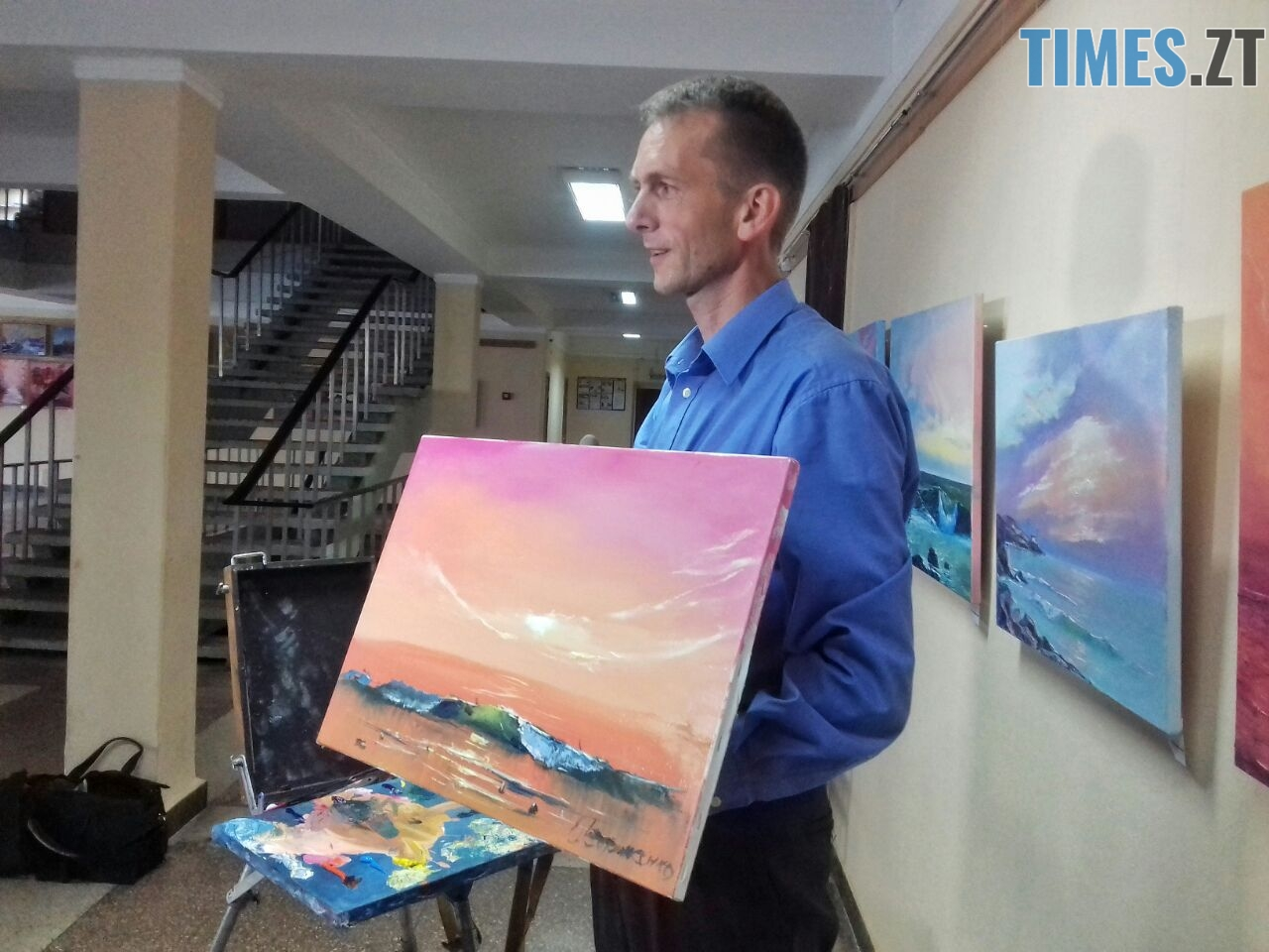 WhatsApp Image 2018 09 01 at 12.12.47 - Мистецтво нашвидкуруч: митець показав, як намалювати картину за 20 хвилин (ФОТО)
