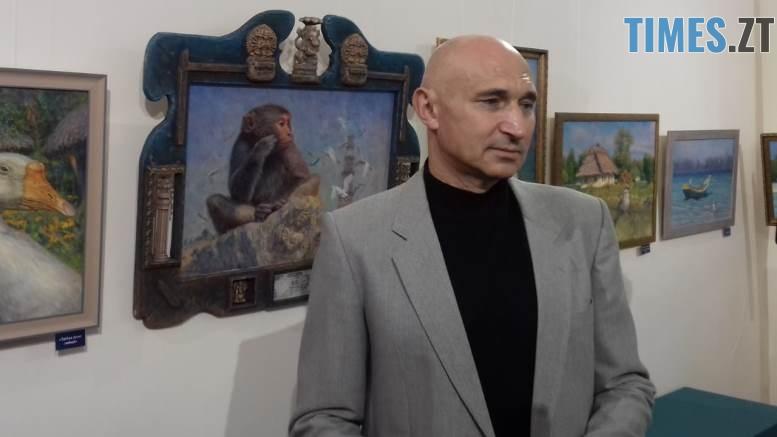 WhatsApp Image 2018 09 18 at 21.12.13 - «Наші лікарі»: житомирський художник презентував картини, на яких не медики, а тварини (ФОТО)