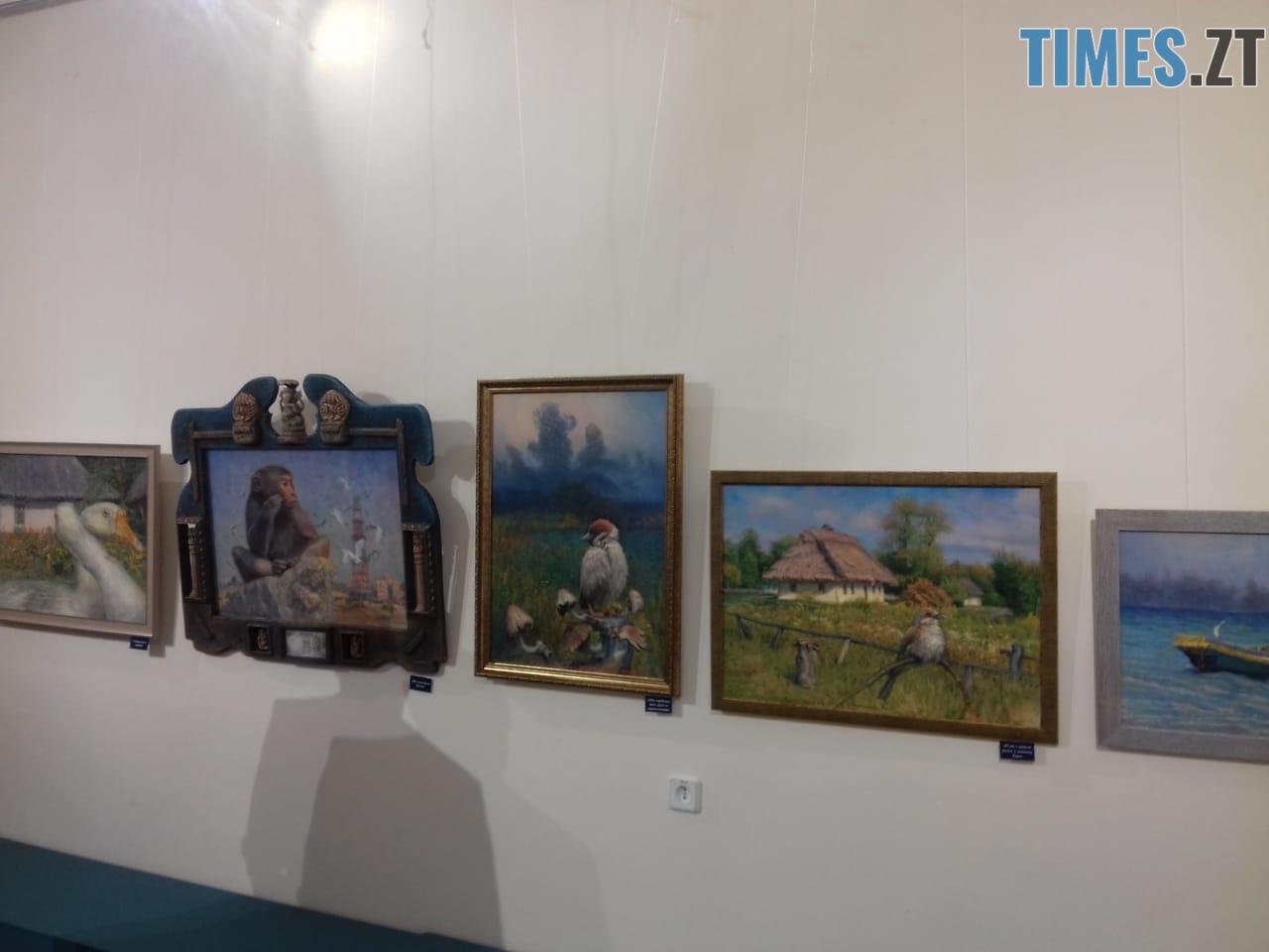 WhatsApp Image 2018 09 18 at 21.12.14 - «Наші лікарі»: житомирський художник презентував картини, на яких не медики, а тварини (ФОТО)