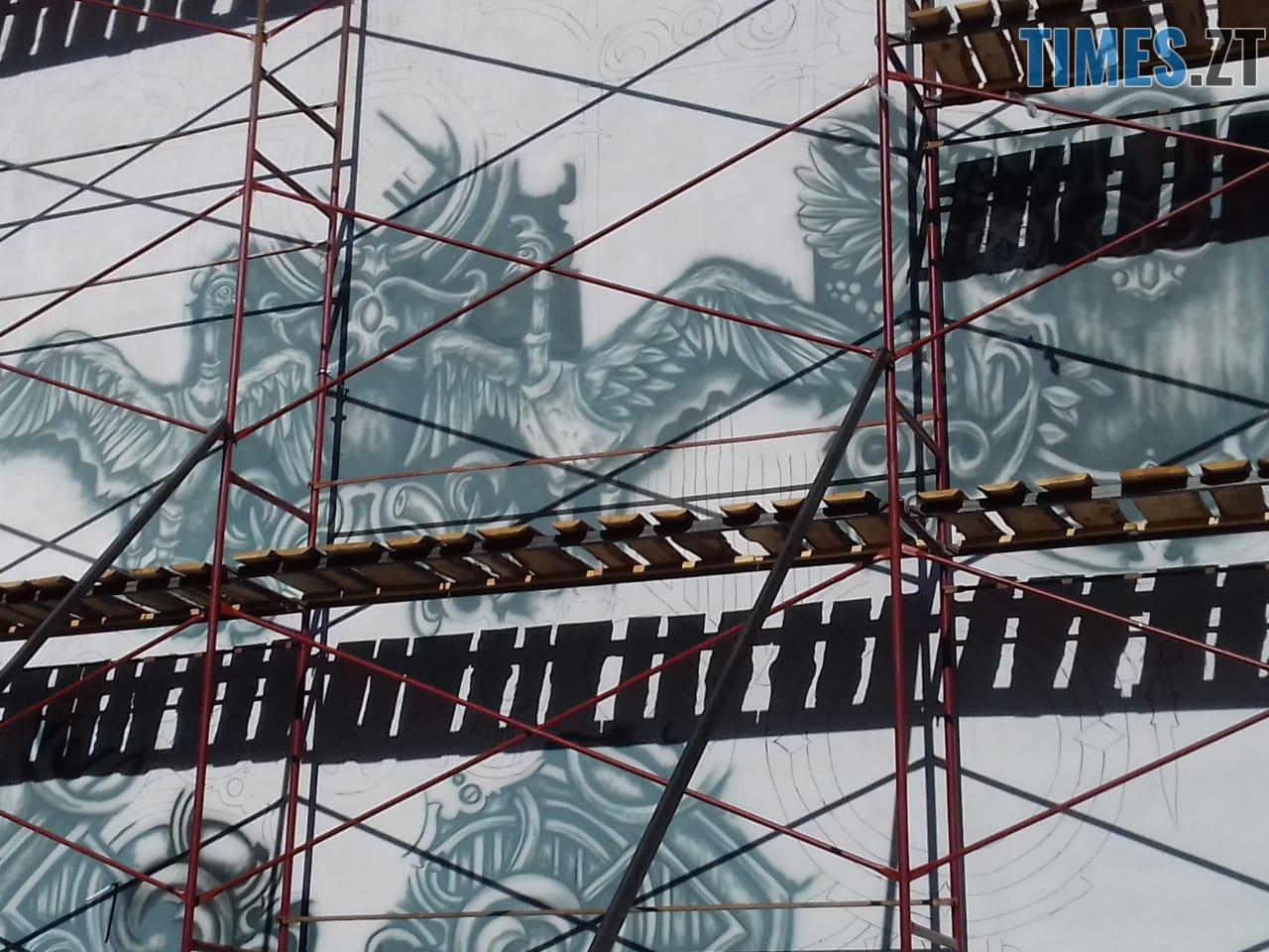 WhatsApp Image 2018 09 24 at 17.49.42 - За місяць у Житомирі з'явиться найбільший мурал міста (ФОТО, ВІДЕО)
