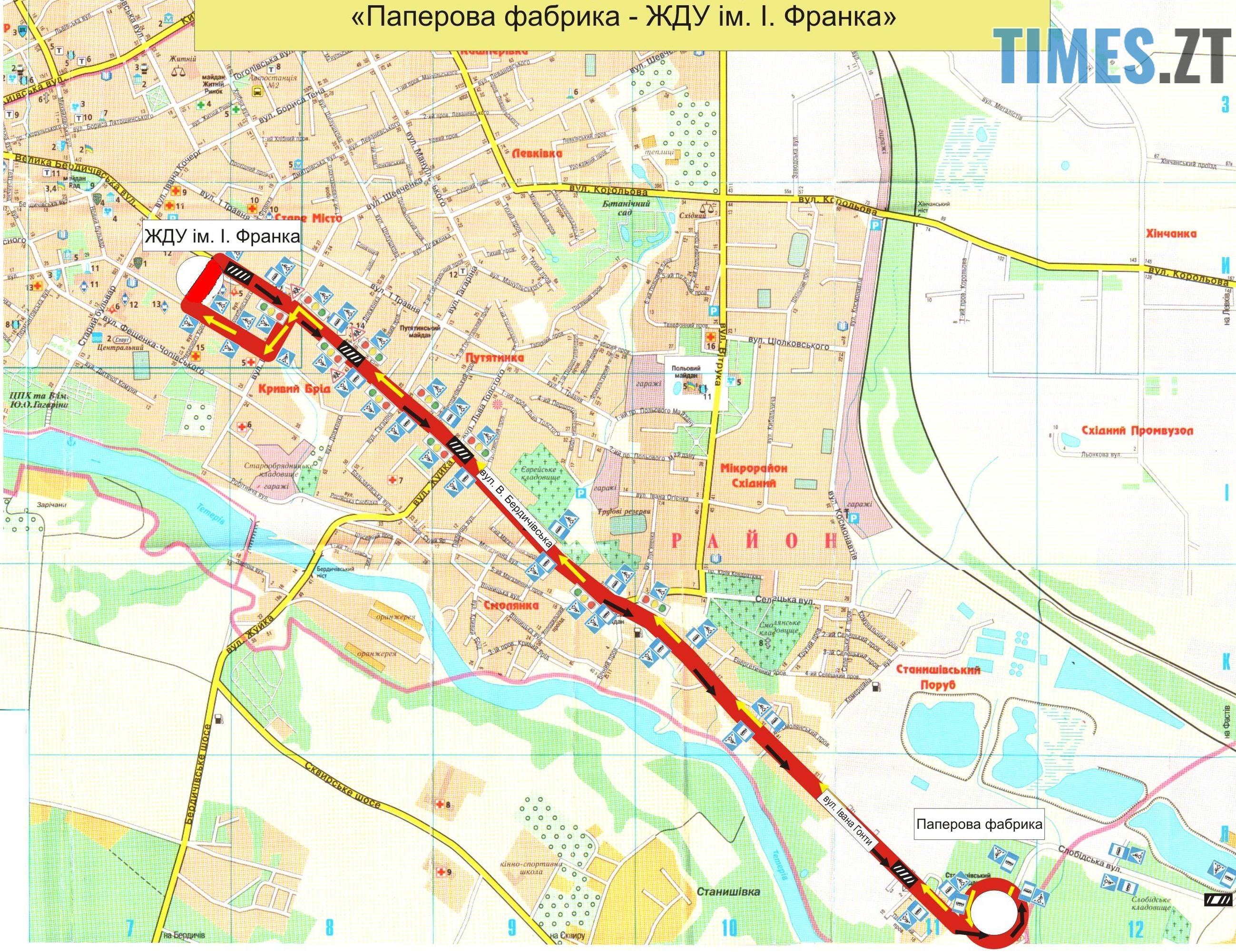 img1535796425 - У Житомирі з'явився маршрут, який возить дітей до навчальних закладів: графік та схема руху
