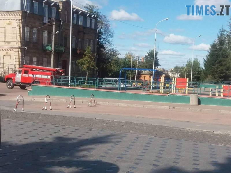 ucheniya 2 - У Житомирській області «замінували» один з вокзалів та провели евакуацію в школі (ФОТО)