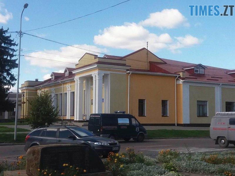 ucheniya 3 - У Житомирській області «замінували» один з вокзалів та провели евакуацію в школі (ФОТО)