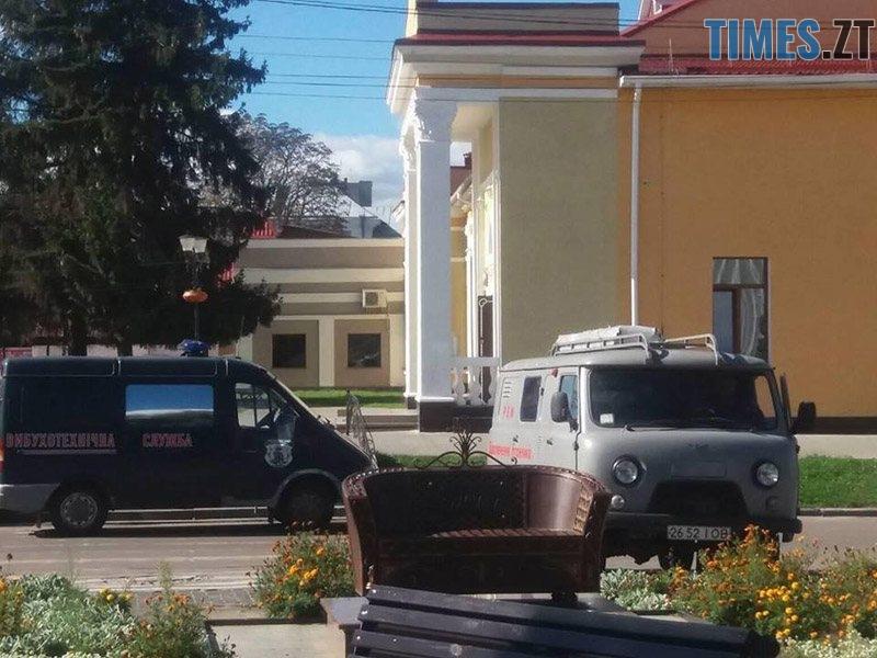 ucheniya 5 - У Житомирській області «замінували» один з вокзалів та провели евакуацію в школі (ФОТО)