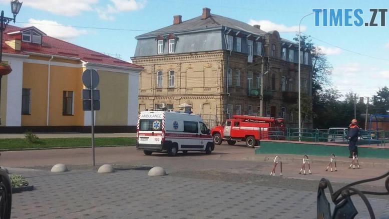 ucheniya 6 1 - У Житомирській області «замінували» один з вокзалів та провели евакуацію в школі (ФОТО)