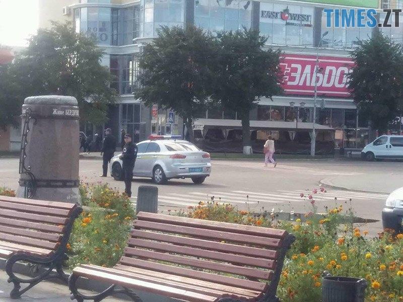 ucheniya 7 - У Житомирській області «замінували» один з вокзалів та провели евакуацію в школі (ФОТО)