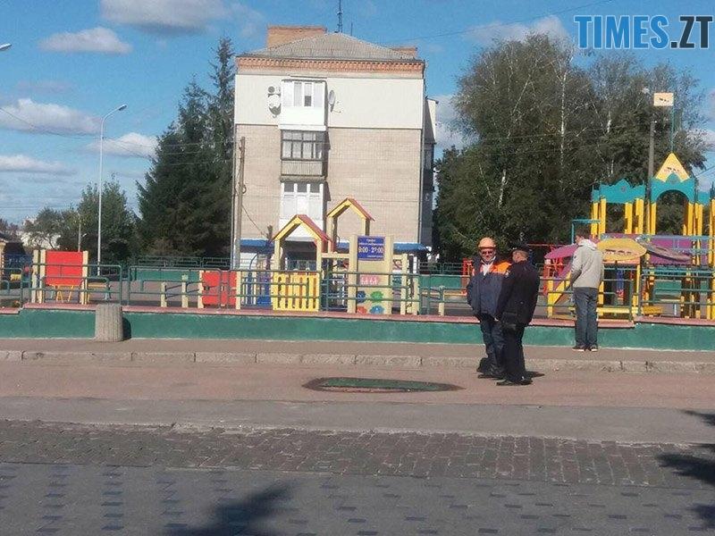 ucheniya 9 - У Житомирській області «замінували» один з вокзалів та провели евакуацію в школі (ФОТО)