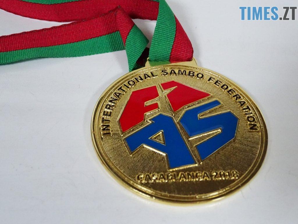 медаль тил 1024x768 - Валерій Демецький став чемпіоном світу з боротьби самбо серед майстрів