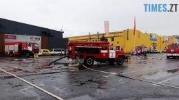 головна 260x146 - Евакуація та 7 пожежних автомобілів: у Житомирі «гасили пожежу» у супермаркеті будівельних матеріалів