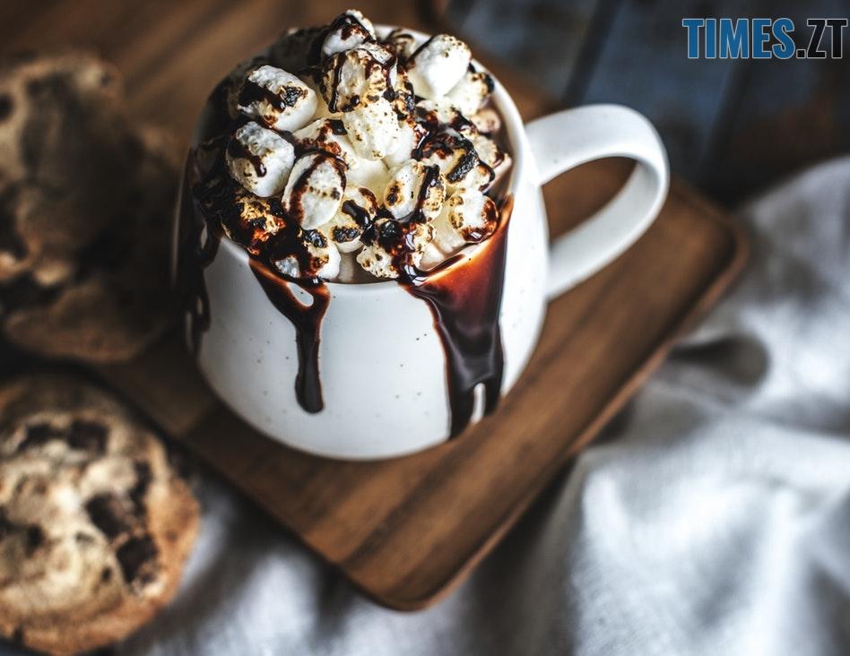 Какао з маршмелоу - осінні напої