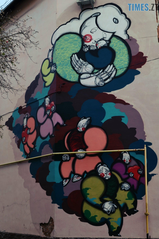 н Перемоги 9 - Місто стінописів: вуличне мистецтво, яке робить Житомир особливим (частина 1)