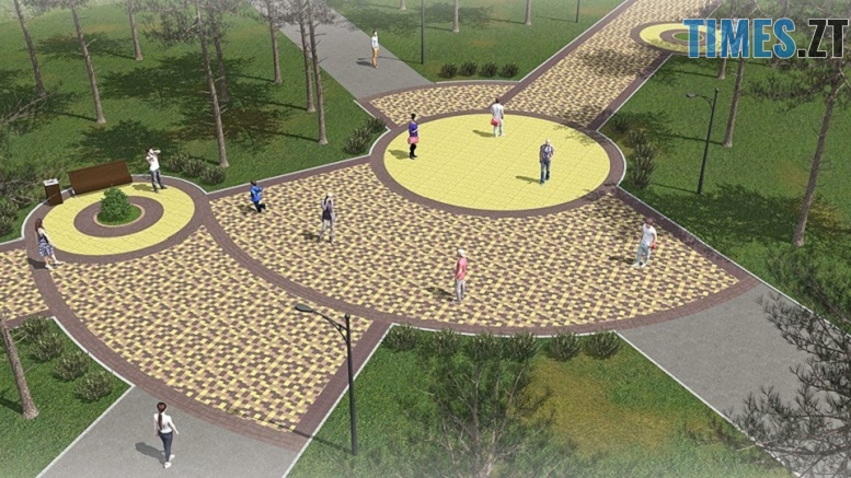 гідропарк - Як виглядатиме центральна алея житомирського Гідропарку після реконструкції