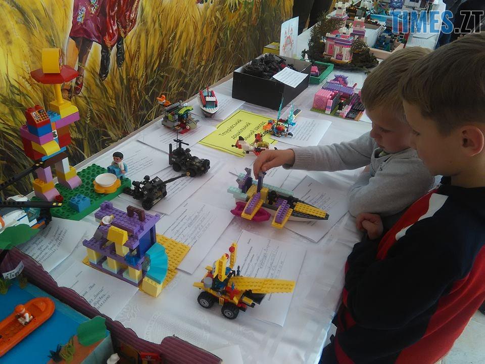 22 - У Тетерівській ОТГ діти поєднали LEGO та туризм