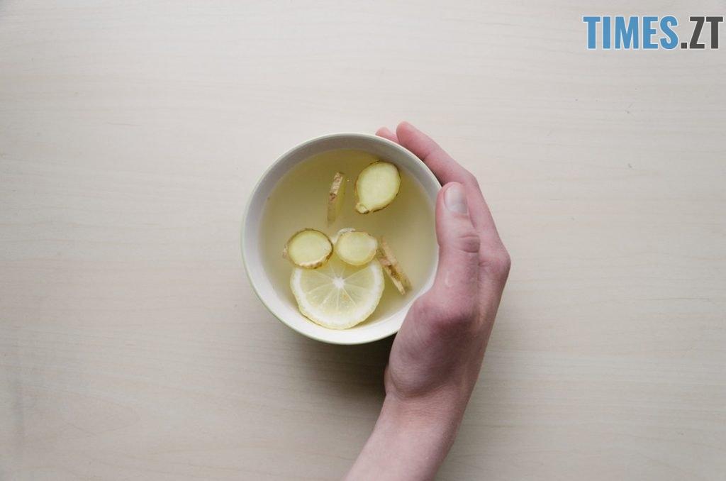 Імбирний чай - осінні напої