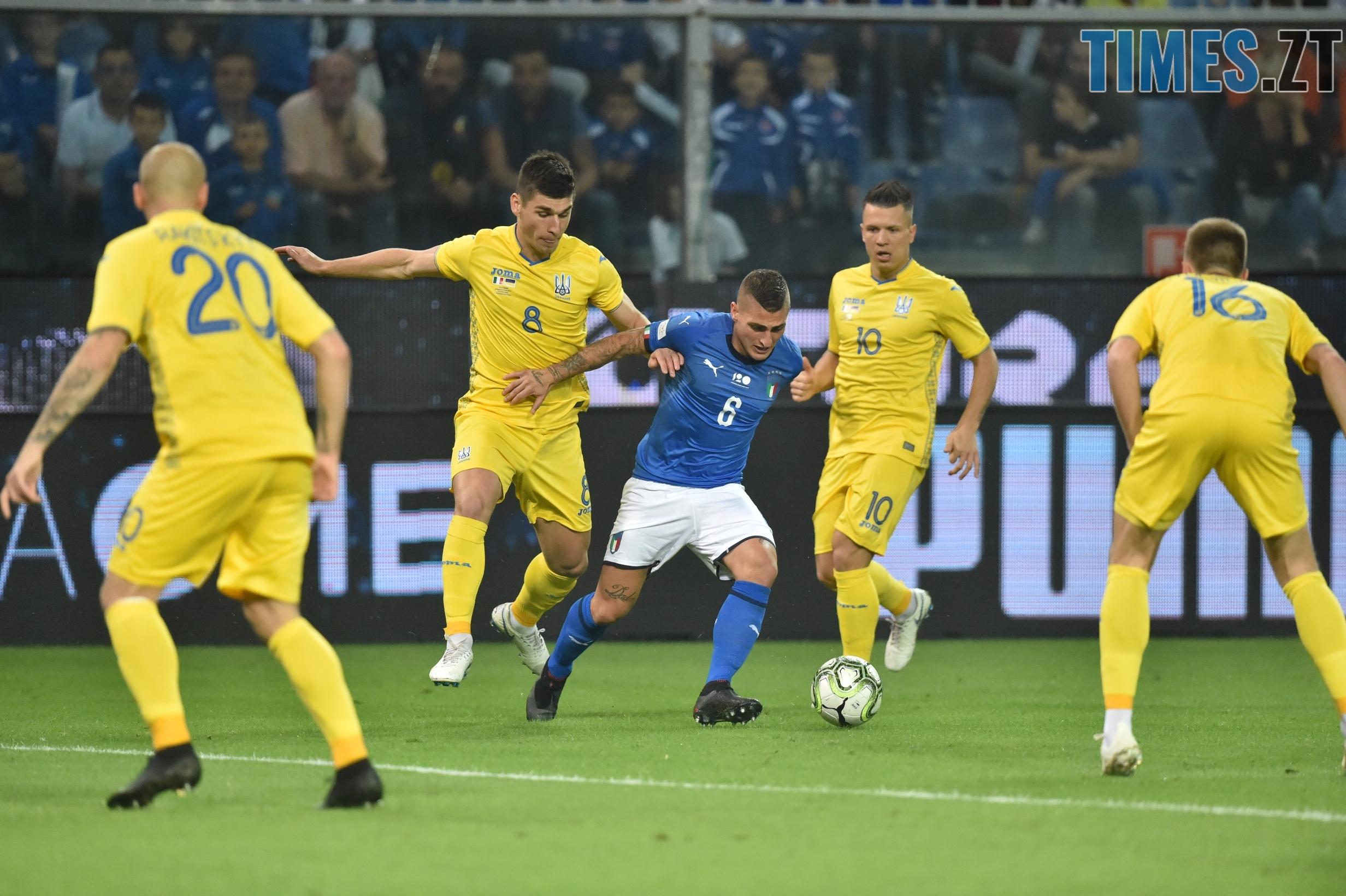 україна 1 - Дебютний гол: завдяки грі житомирянина збірна України зіграла внічию з італійцями