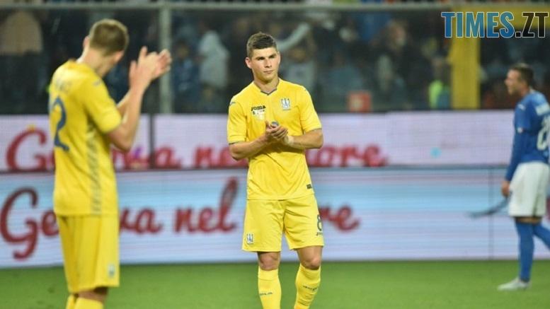 україна 4 - Дебютний гол: завдяки грі житомирянина збірна України зіграла внічию з італійцями