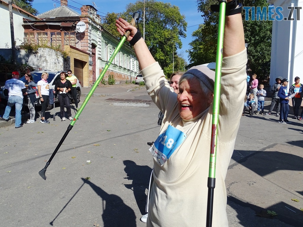1 1 - У перших відкритих змаганнях зі скандинавської ходьби на Житомирщині помірялися силою понад 100 учасників