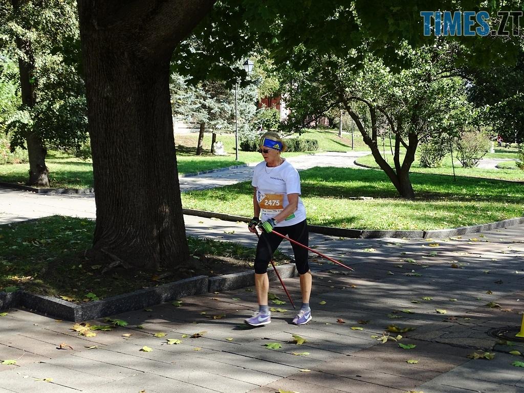 10 Оксана Заліско перемогла на дистанції 3 км - У перших відкритих змаганнях зі скандинавської ходьби на Житомирщині помірялися силою понад 100 учасників