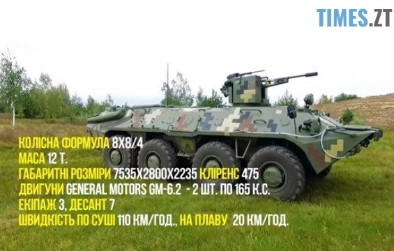 29 - Новітні розробки Житомирського бронетанкового заводу показали на Міжнародній оборонній виставці