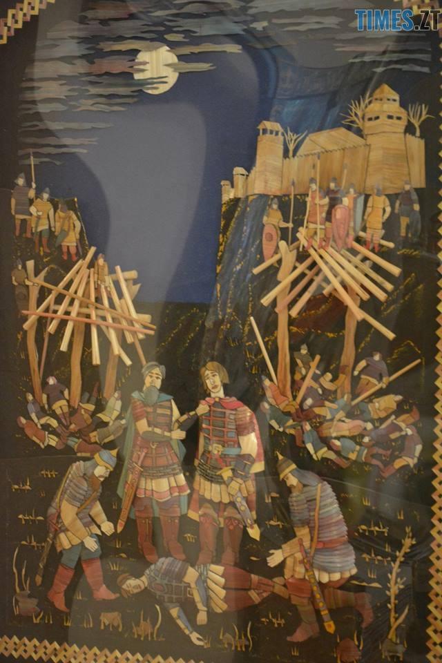35972481 1958107117833661 3643635320878006272 n - Житомирський художник створює 3D-шедеври із соломи