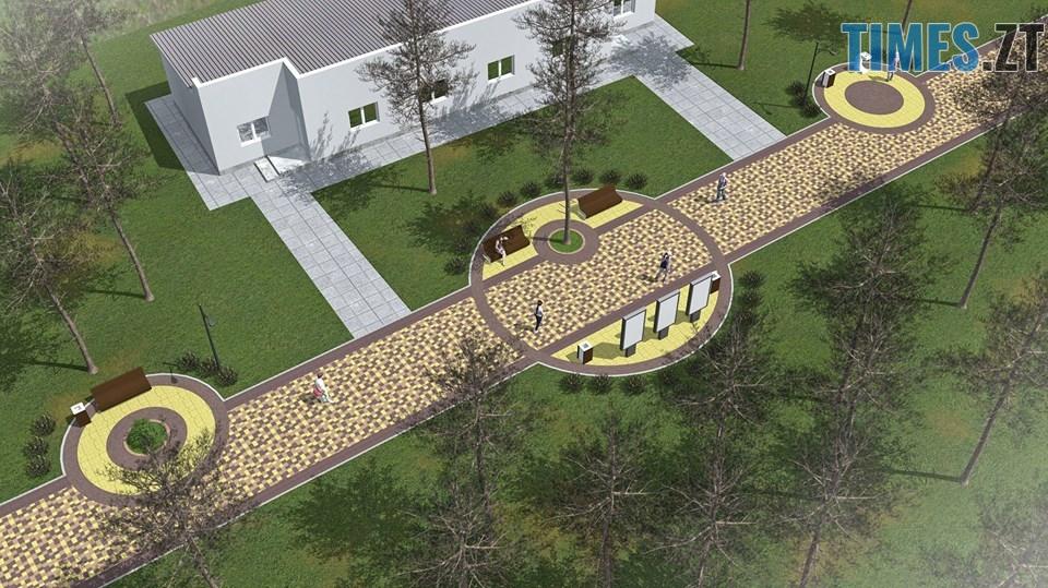 45111362 2157683597616964 5837730393515622400 n - Як виглядатиме центральна алея житомирського Гідропарку після реконструкції