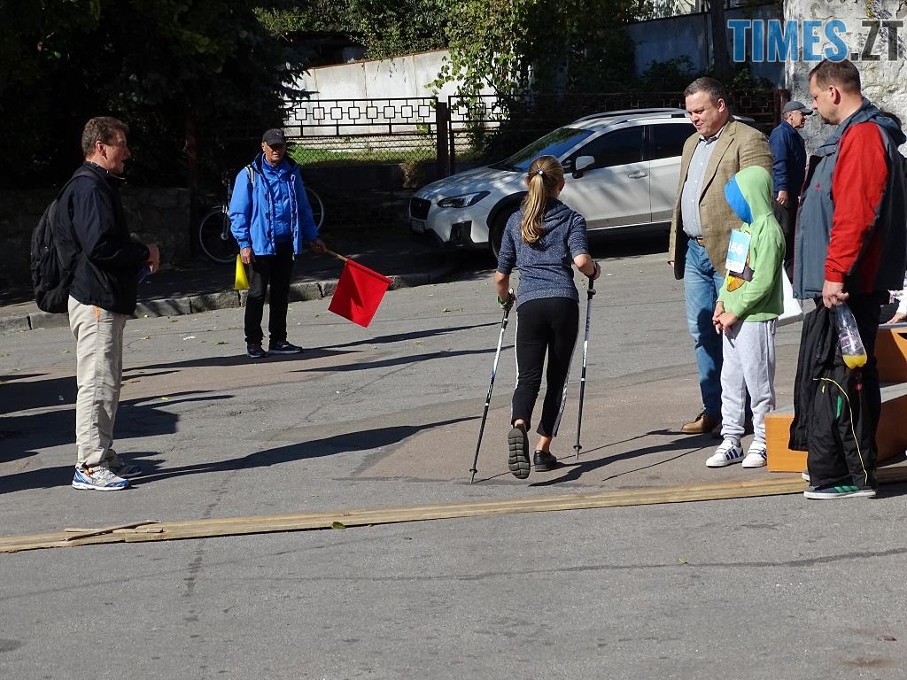 9 - У перших відкритих змаганнях зі скандинавської ходьби на Житомирщині помірялися силою понад 100 учасників