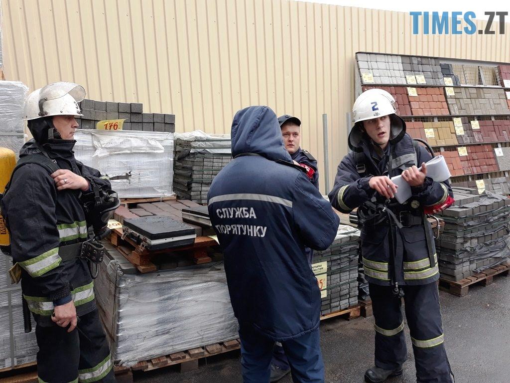 9031 1024x768 - Евакуація та 7 пожежних автомобілів: у Житомирі «гасили пожежу» у супермаркеті будівельних матеріалів