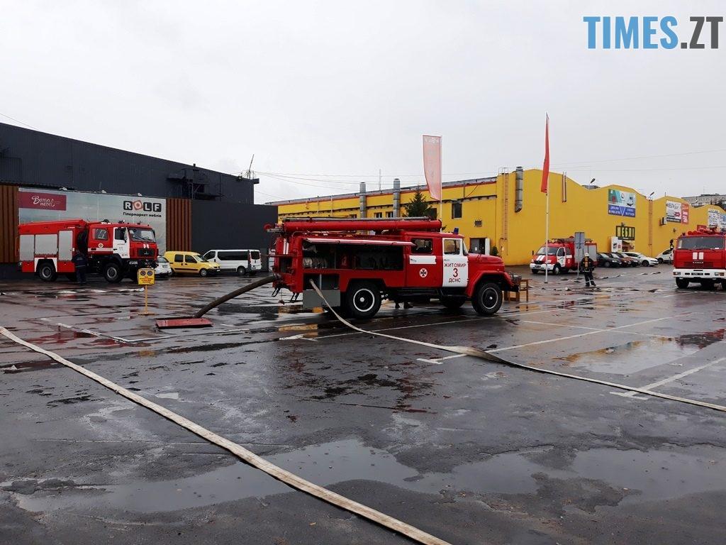 9034 1024x768 - Евакуація та 7 пожежних автомобілів: у Житомирі «гасили пожежу» у супермаркеті будівельних матеріалів