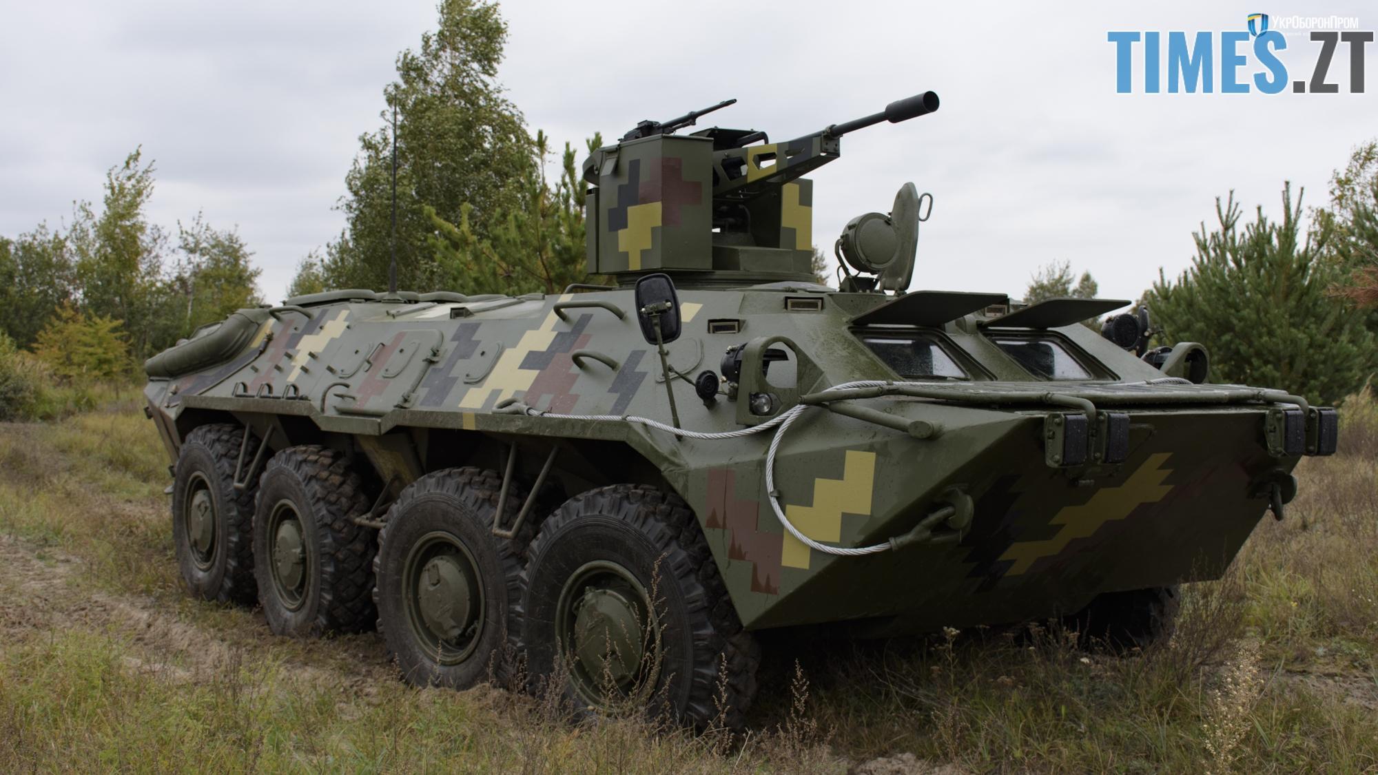DSC0916 - Швидкий, надійний, мобільний та потужний: Житомирський бронетанковий завод презентував оновлений бронетранспортер