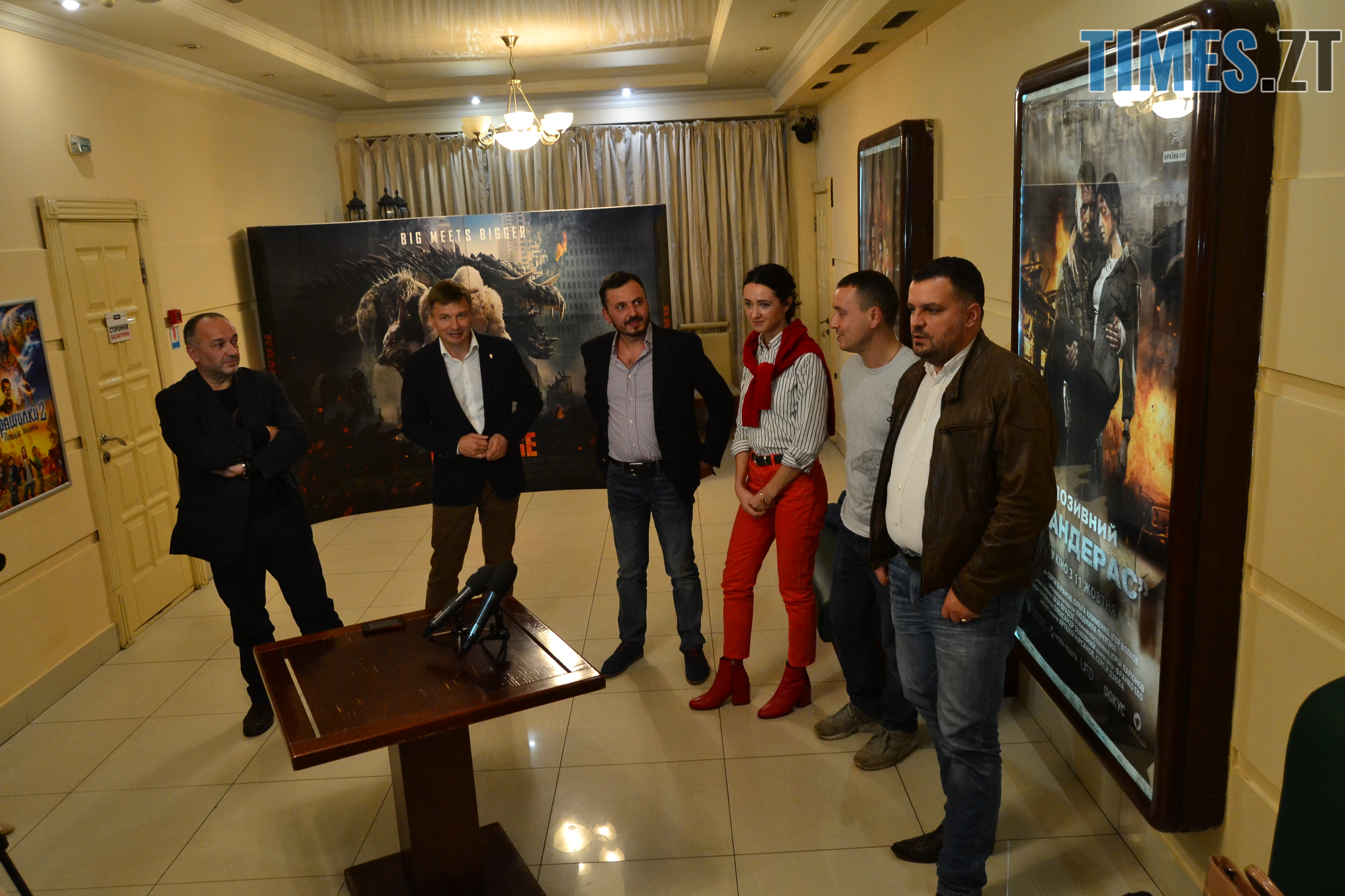 """DSC 0440 - Дивись українське: в Житомирі відбулась прем'єра фільму «Позивний """"Бандерас""""»"""