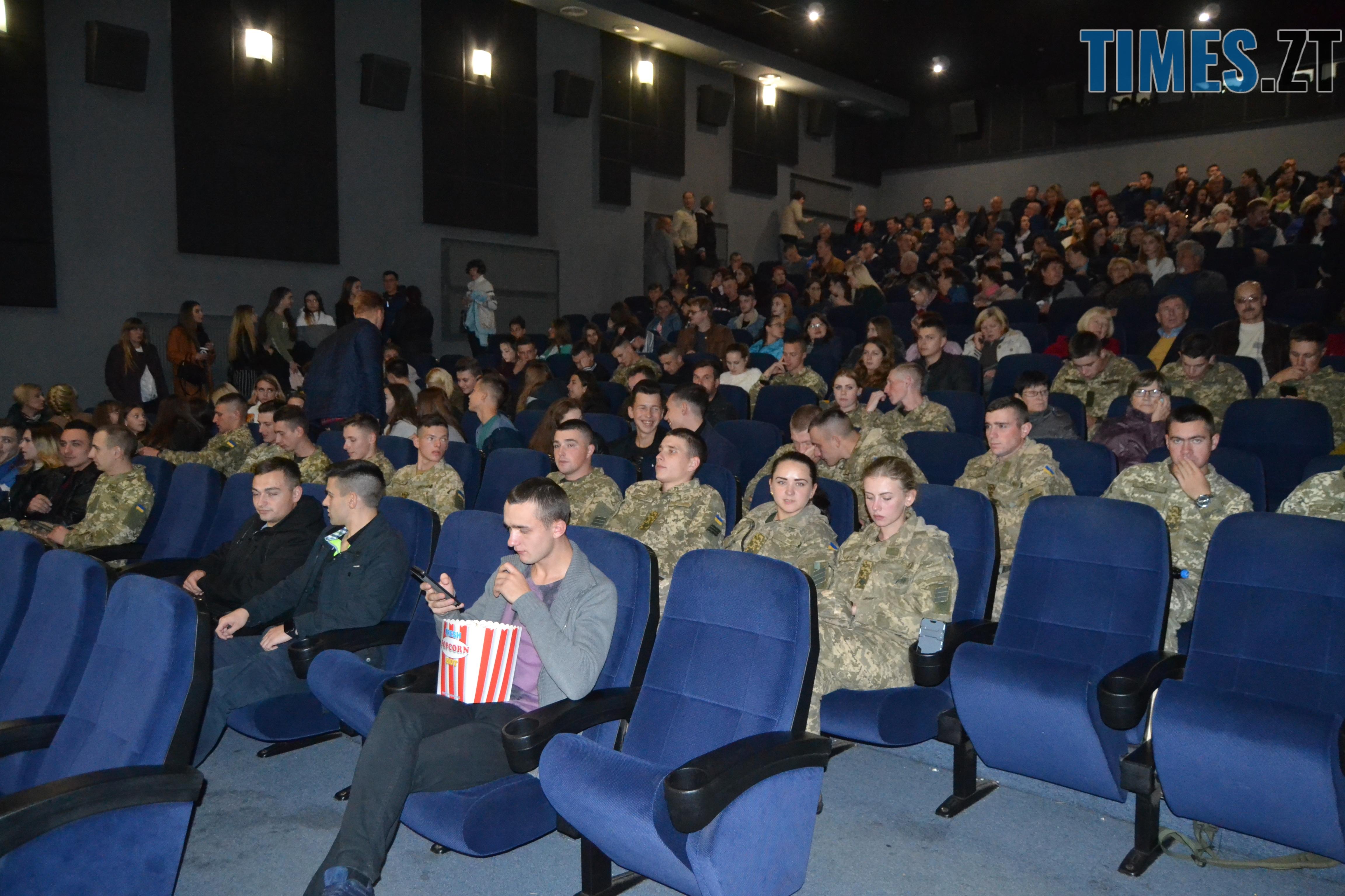 """DSC 0458 - Дивись українське: в Житомирі відбулась прем'єра фільму «Позивний """"Бандерас""""»"""
