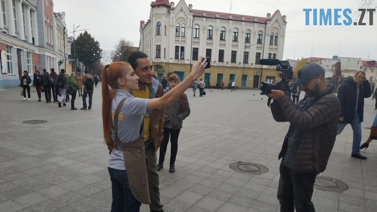 IMG 20181029 140743 - Ведучий шоу «Дома лучше» побував в Житомирі: що цікавого про місто показали на екранах