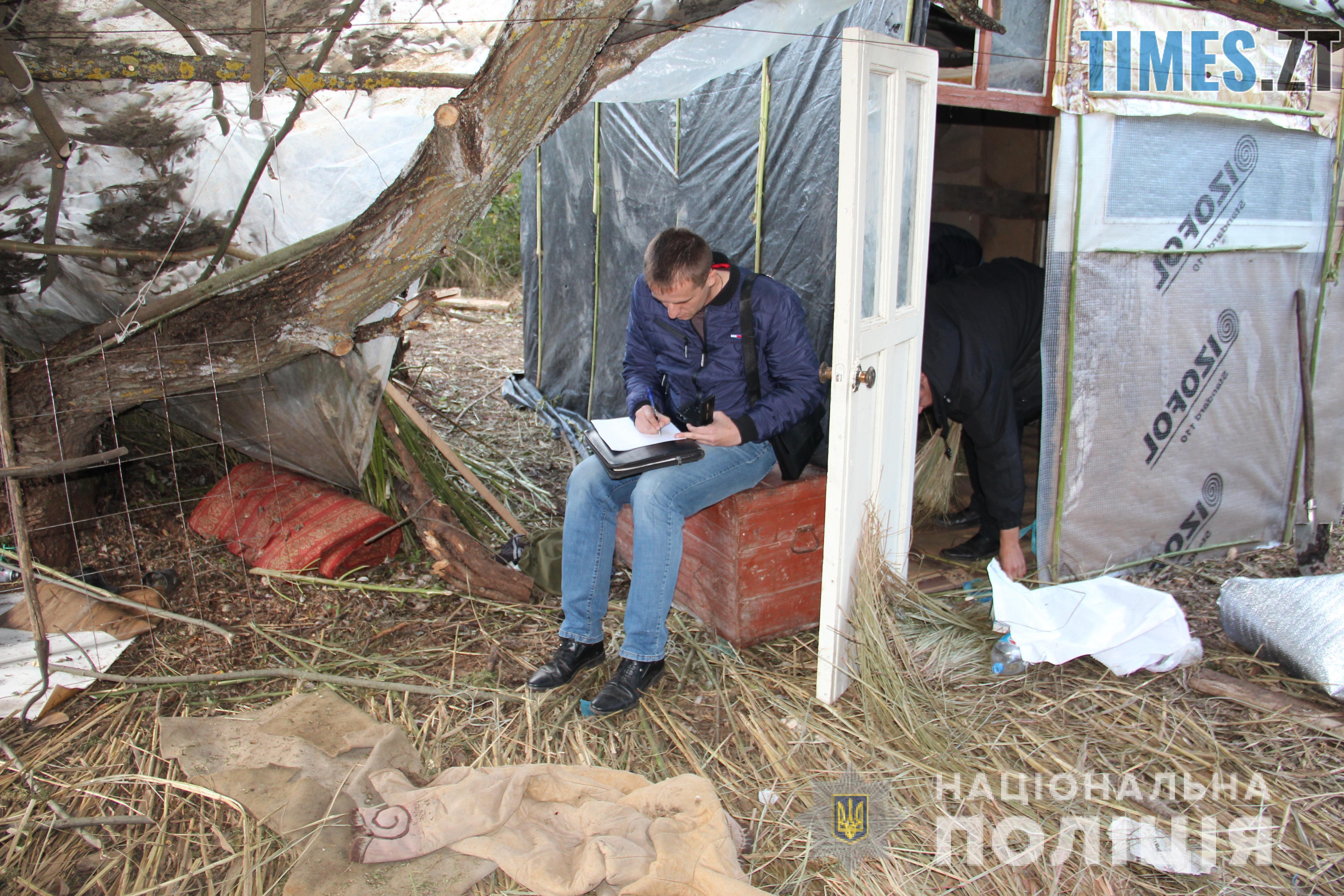 IMG 2321 - Наркоплантатор по-бердичівськи: поліція вилучила у місцевого жителя півтонни коноплі
