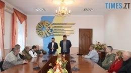 IMG 9707 260x146 - Восьмеро жителів Житомирської області отримали посвідчення «Бійця-добровольця АТО»